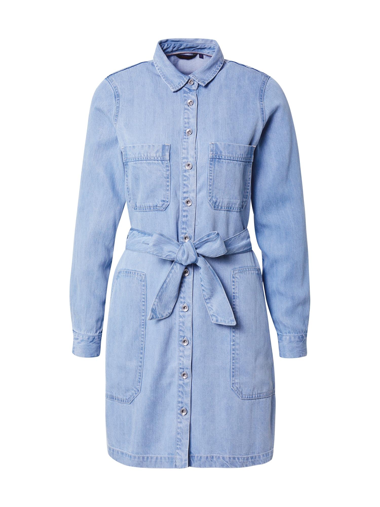 Salsa Palaidinės tipo suknelė šviesiai mėlyna