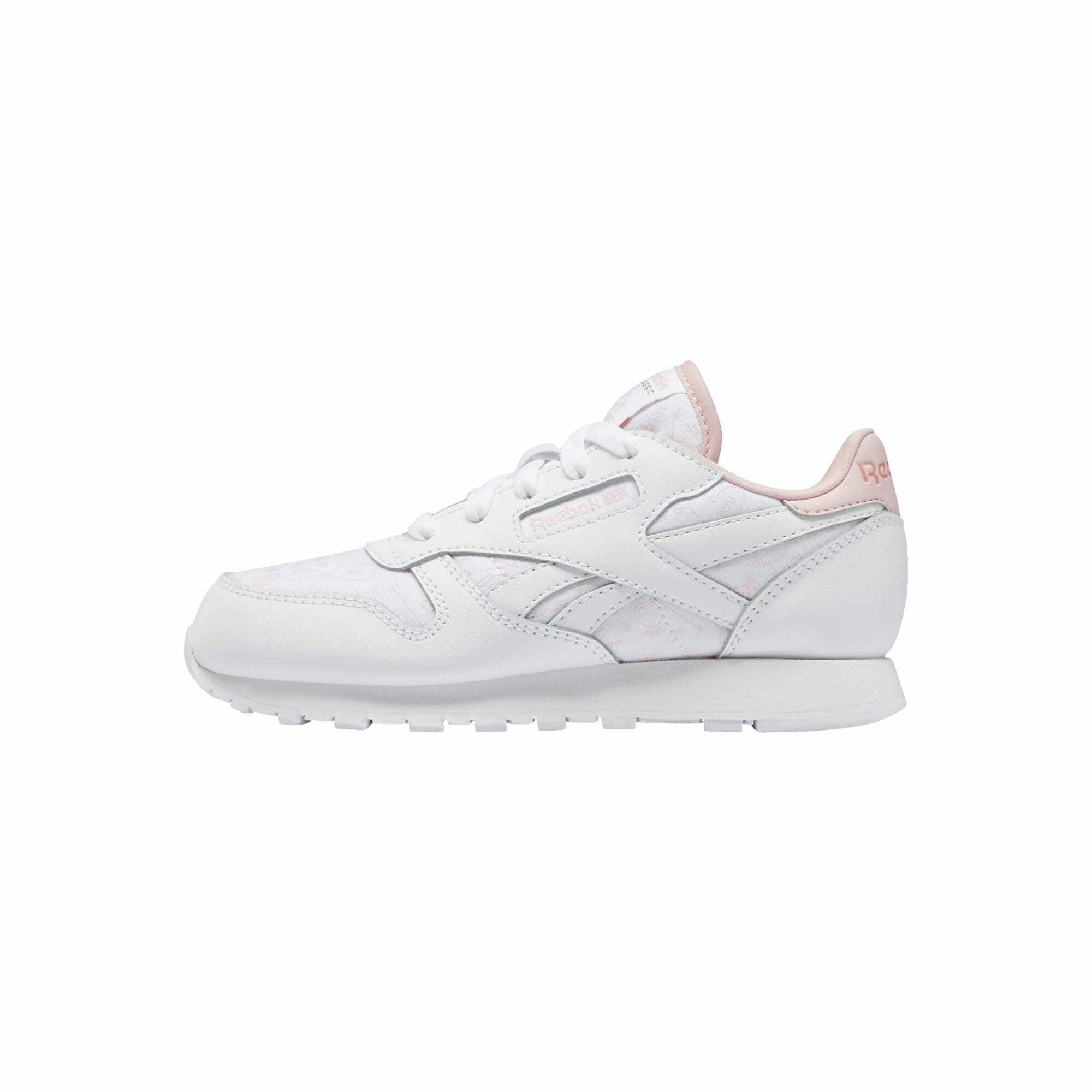 Reebok Classic Sportbačiai balta / pastelinė rožinė