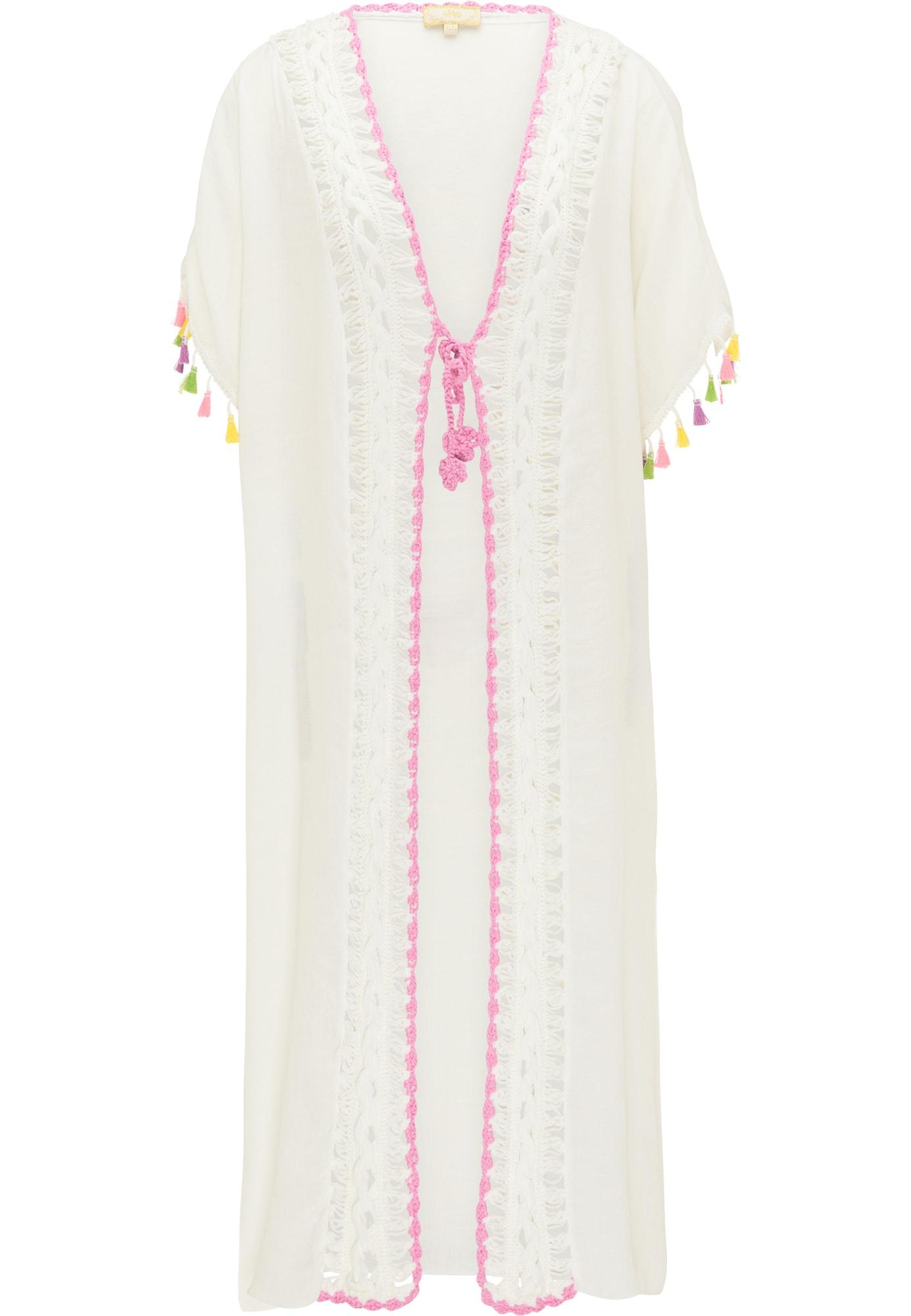 MYMO Kimono balta / mišrios spalvos