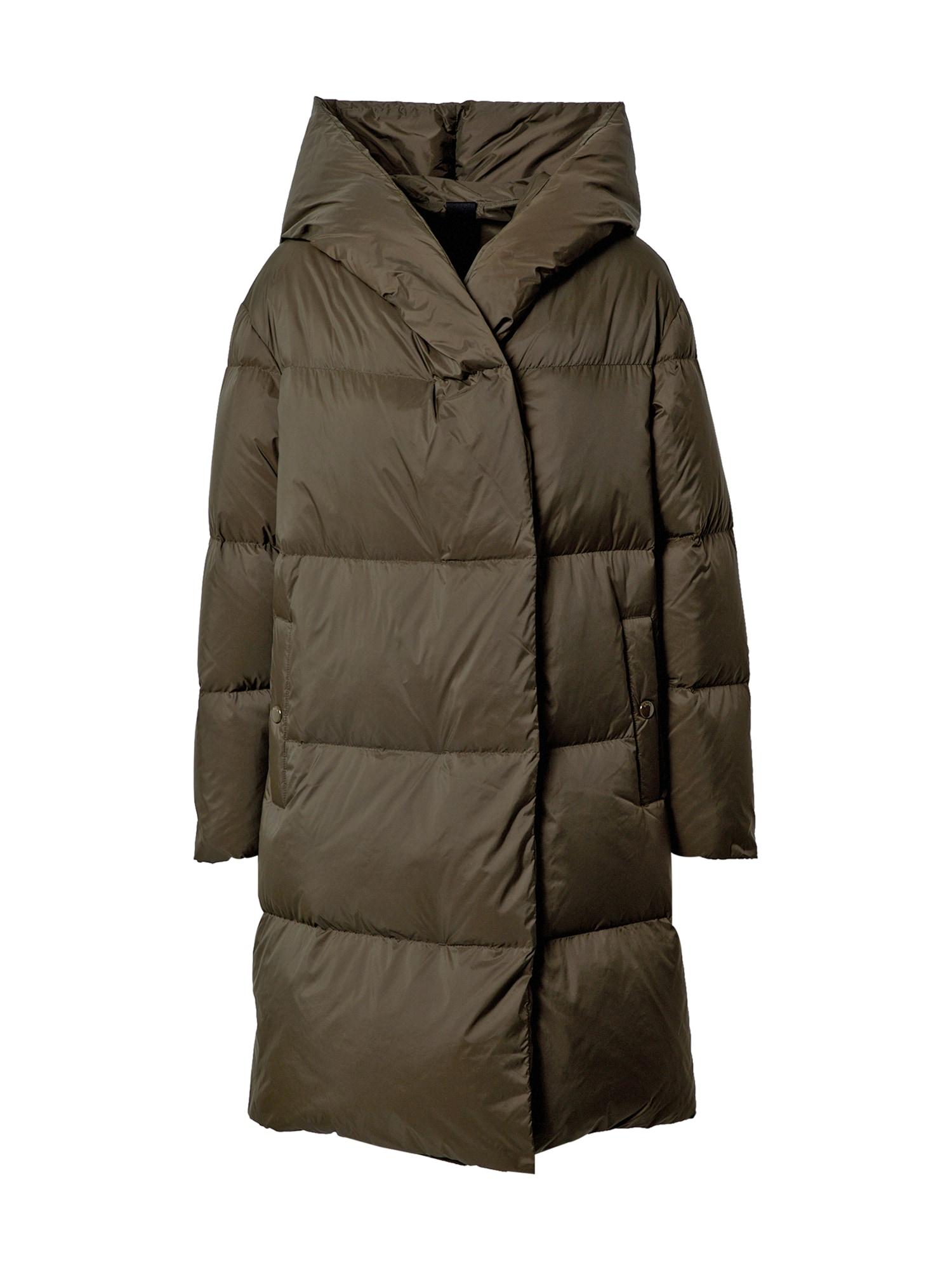 BOSS Žieminis paltas žalia