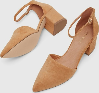 Bianco Divived Pointed Top Pump