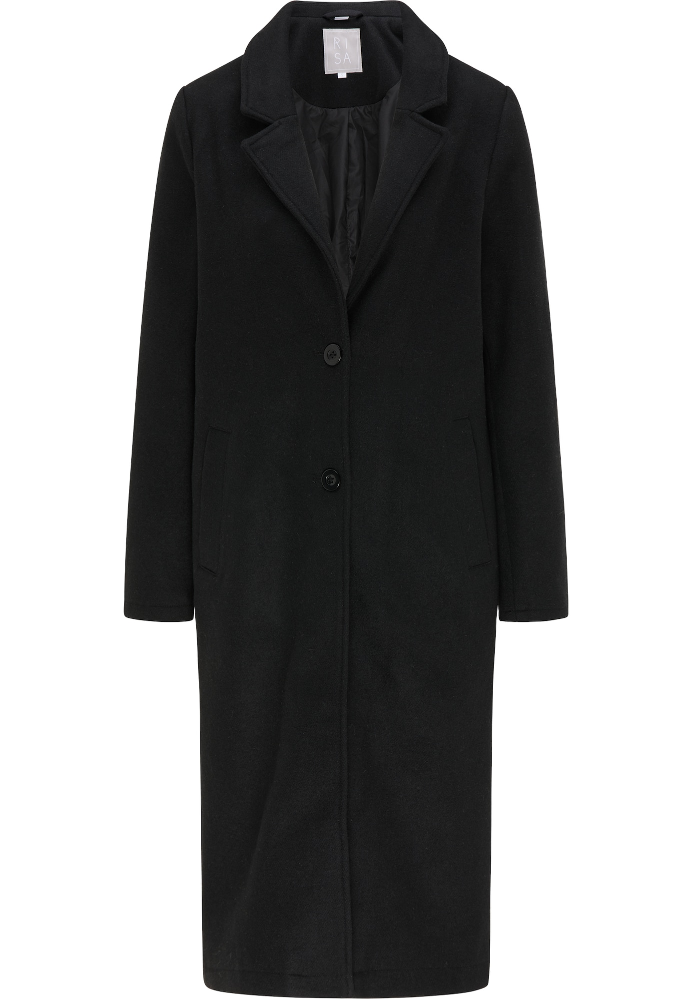 RISA Demisezoninis paltas juoda