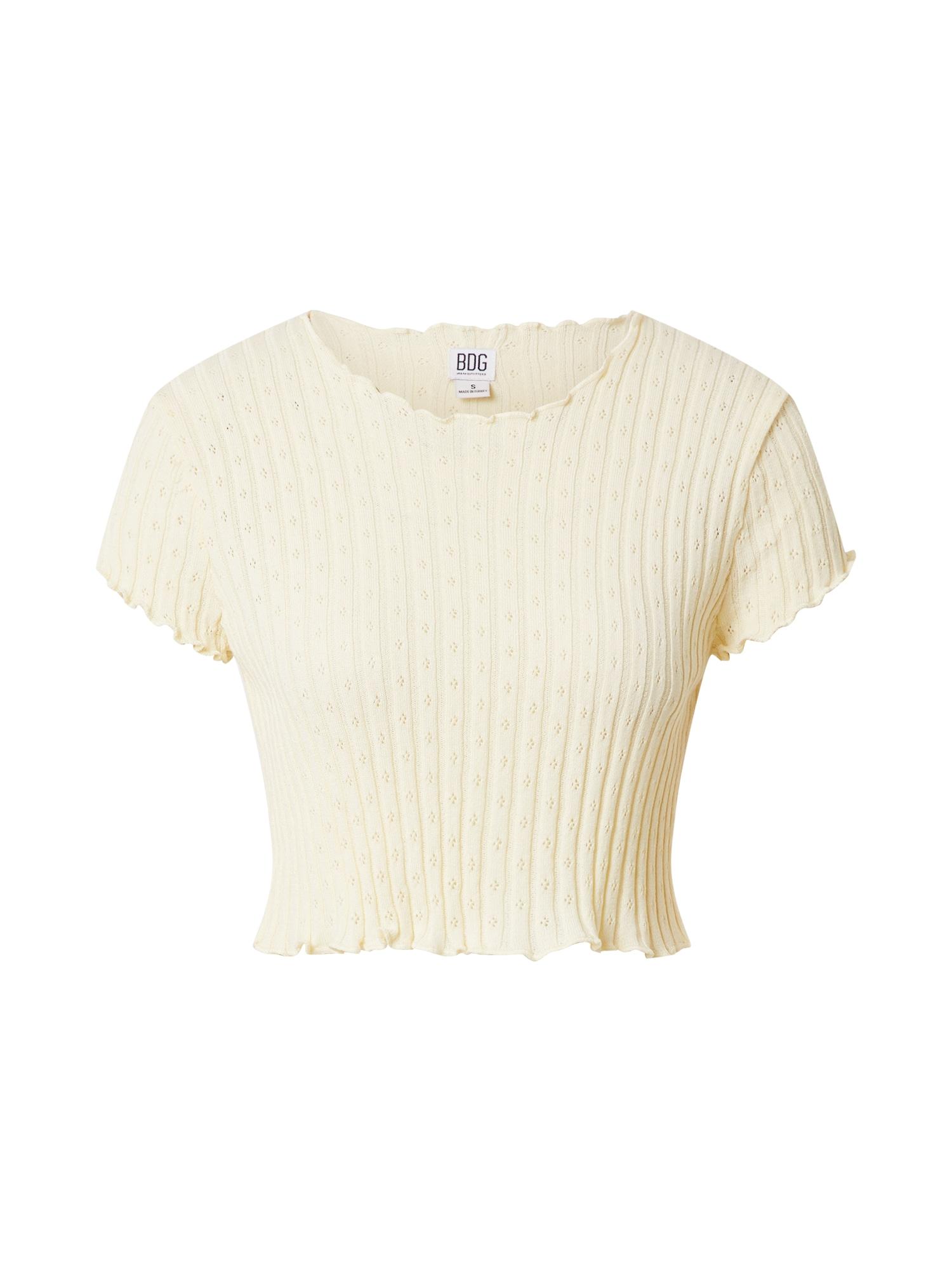 BDG Urban Outfitters Marškinėliai smėlio spalva