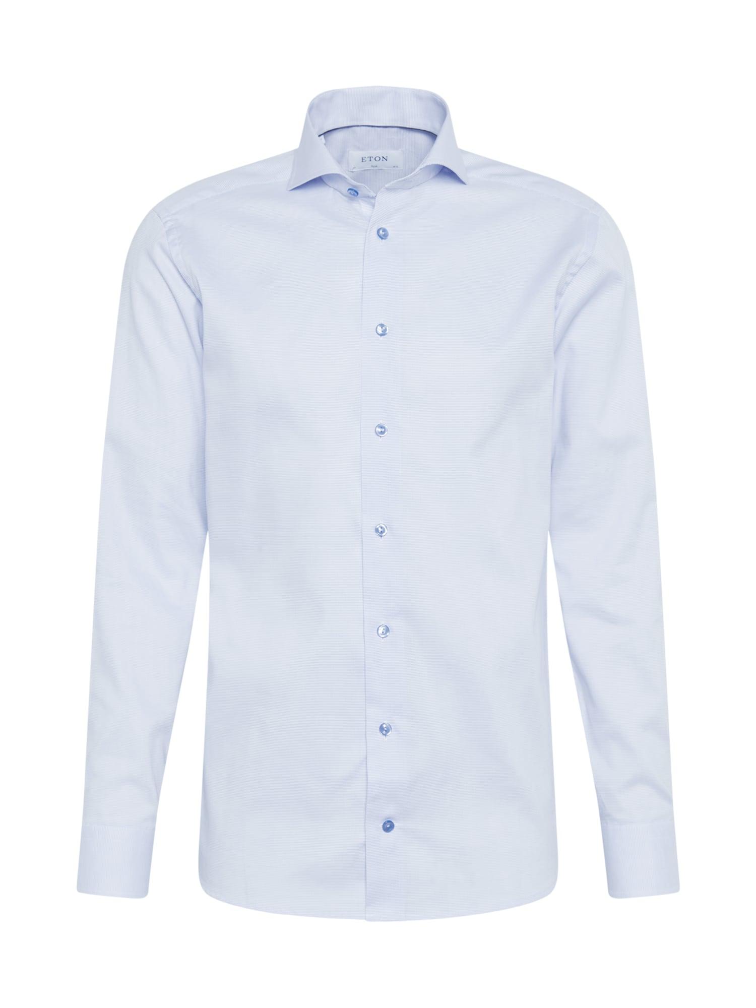 ETON Dalykinio stiliaus marškiniai šviesiai mėlyna