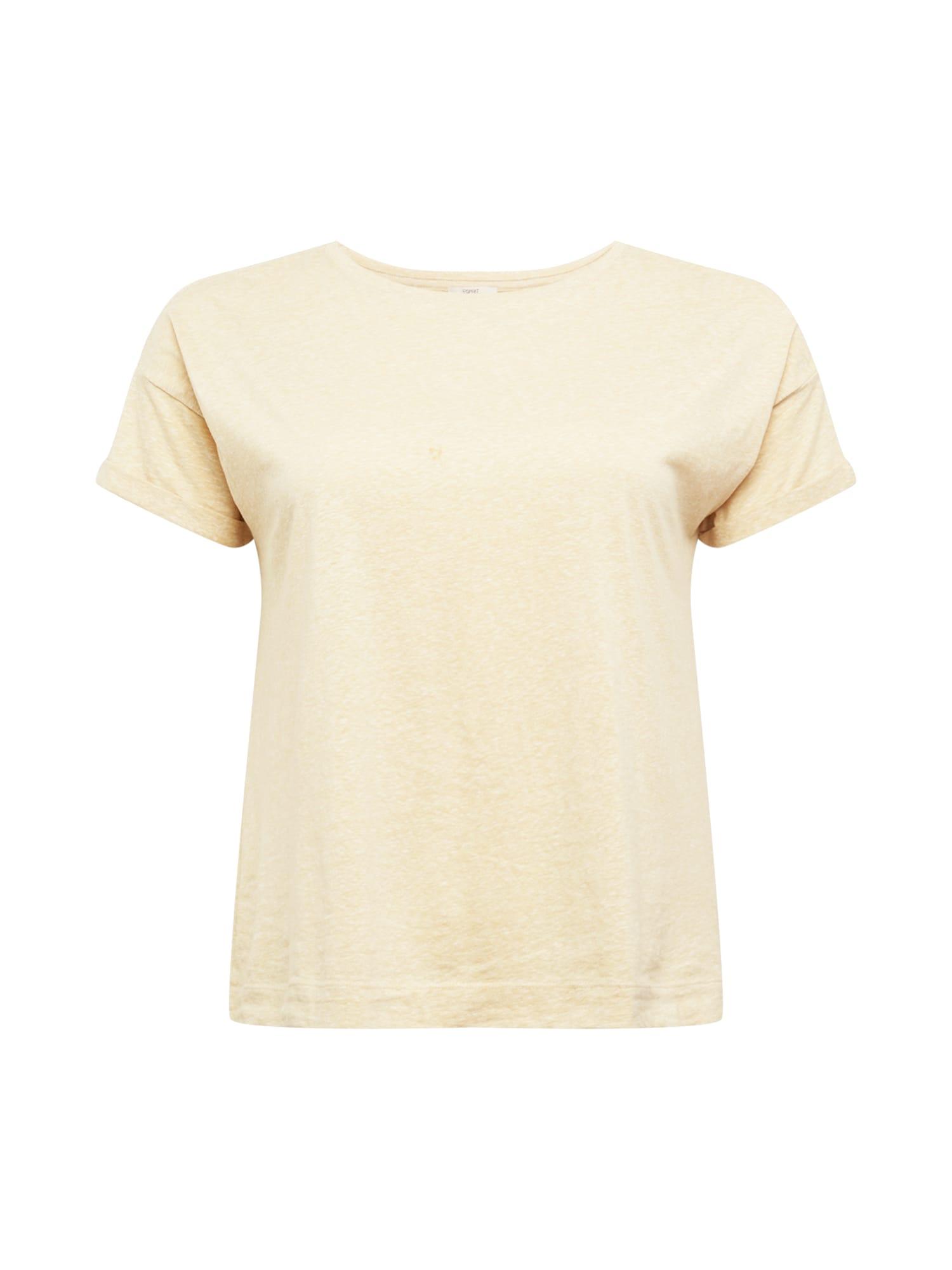 Esprit Curves Marškinėliai smėlio