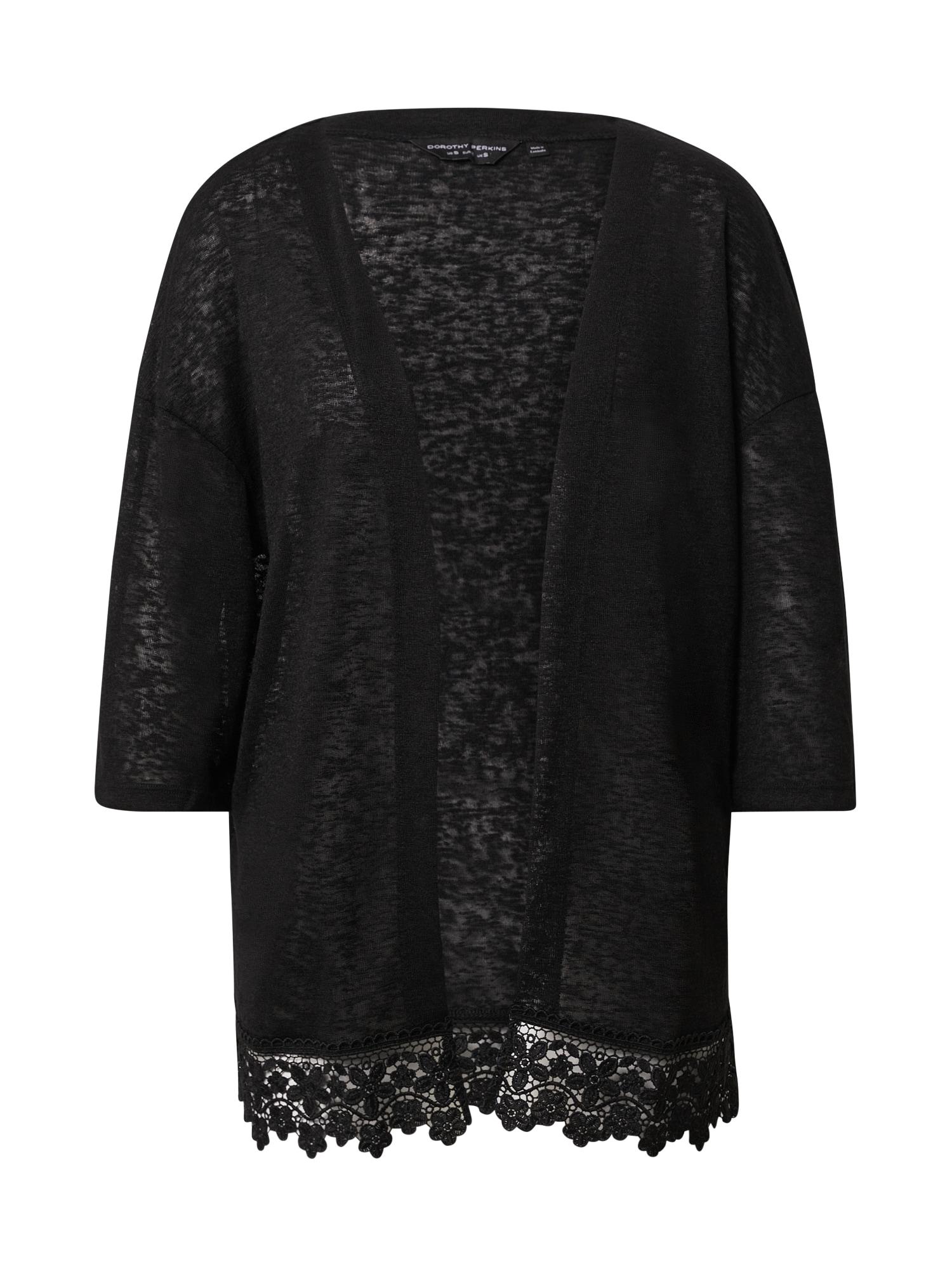 Dorothy Perkins Kimono juoda