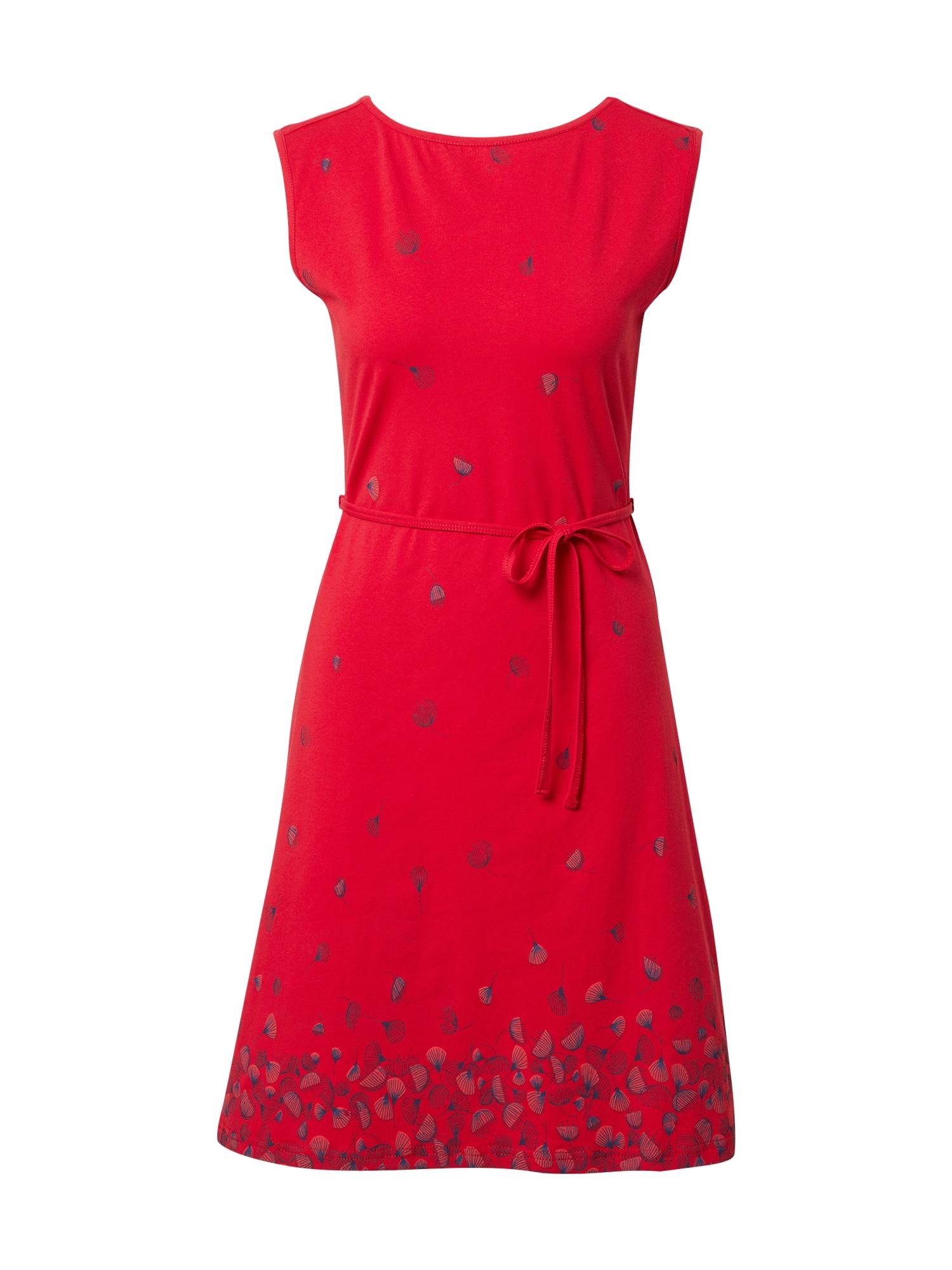 Tranquillo Suknelė raudona / tamsiai mėlyna