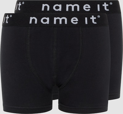Name It Kids schwarze Boxershorts im 2er-Pack