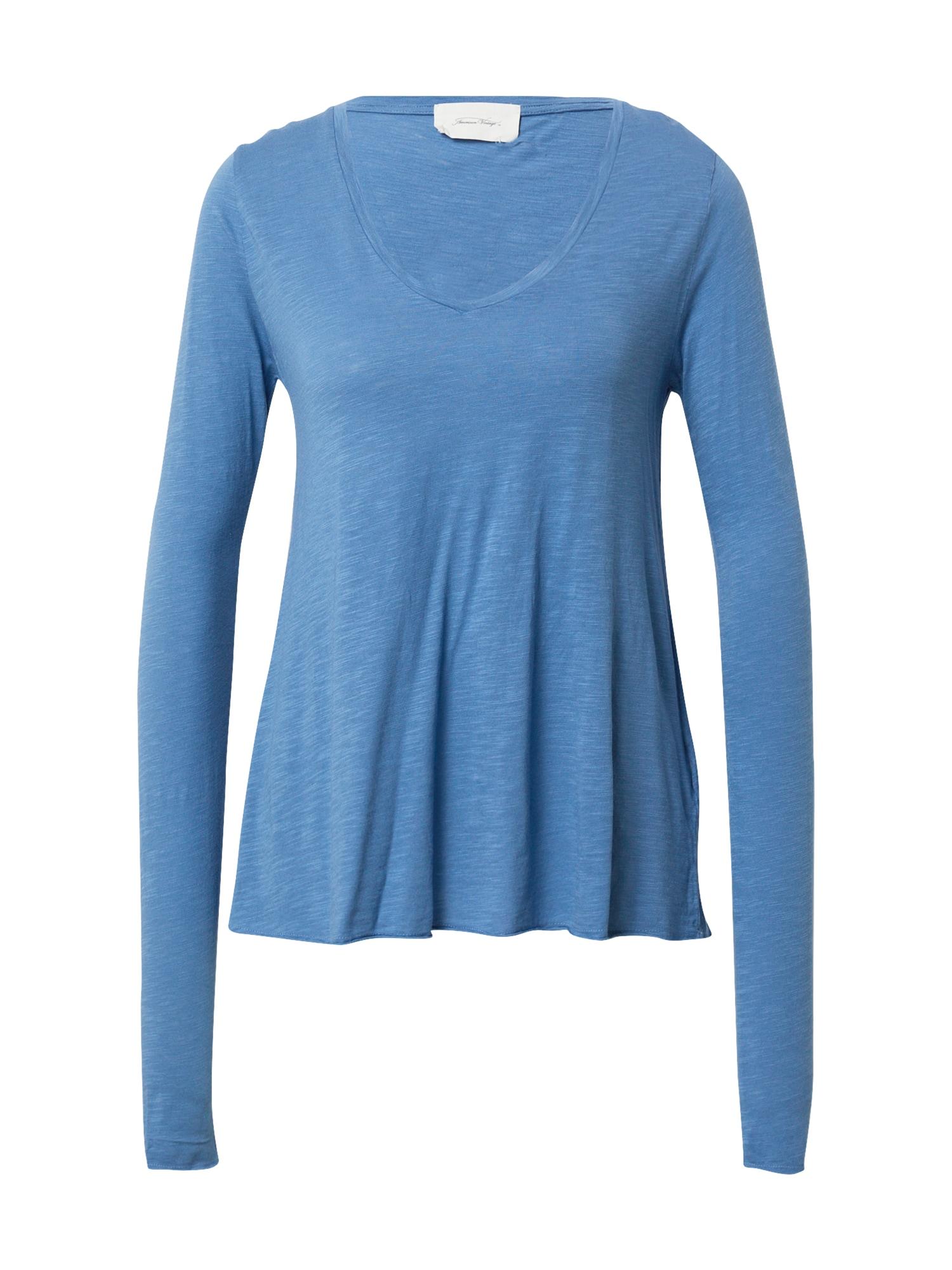 AMERICAN VINTAGE Marškinėliai margai mėlyna