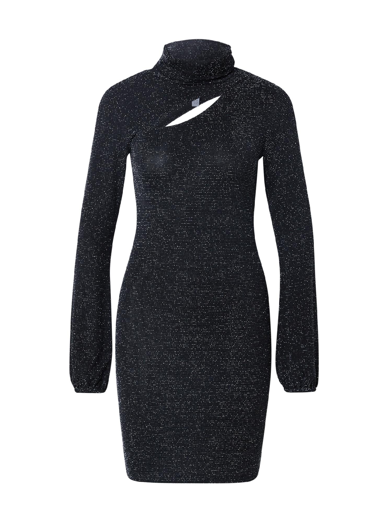 KENDALL + KYLIE Kokteilinė suknelė juoda