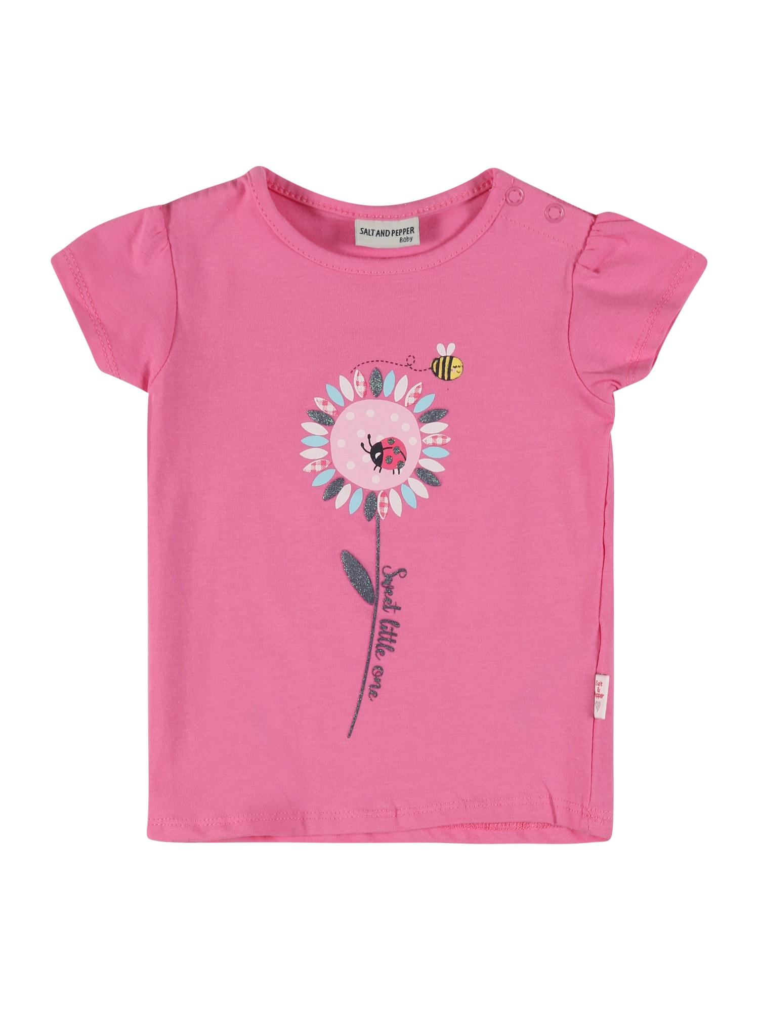 SALT AND PEPPER Marškinėliai rožinė / mišrios spalvos
