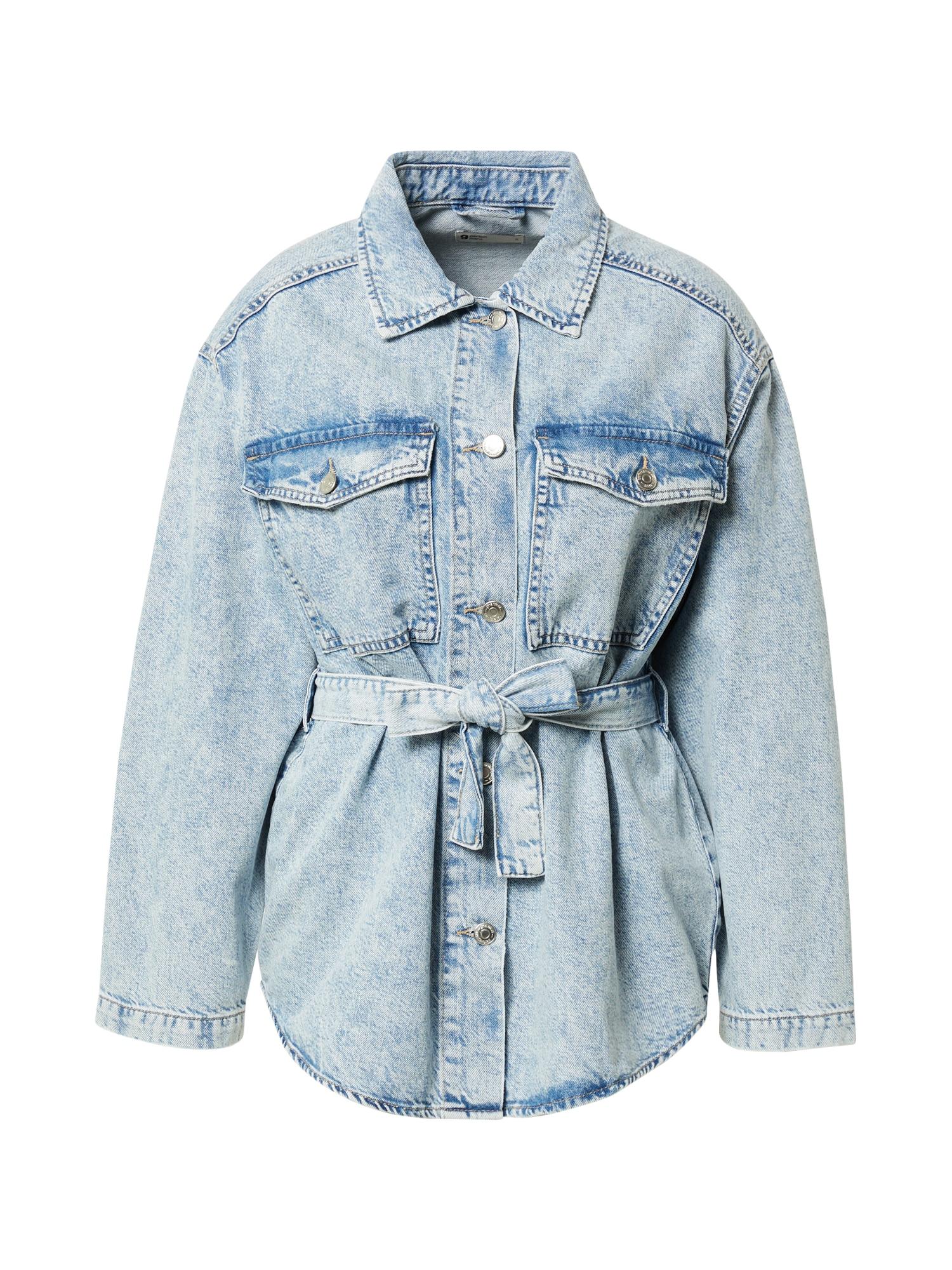 Gina Tricot Demisezoninė striukė tamsiai (džinso) mėlyna