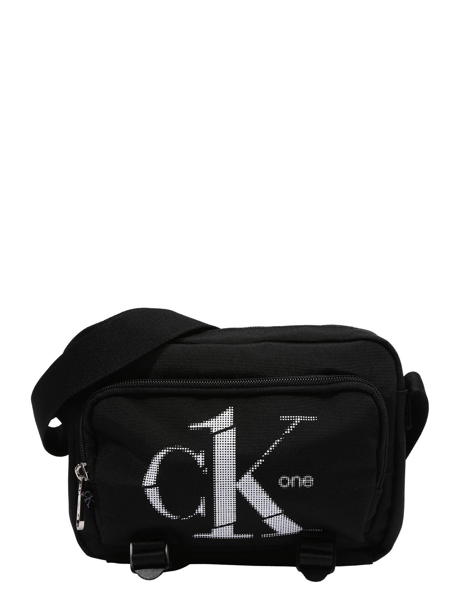 Calvin Klein Fotoaparato dėklas juoda / šviesiai pilka