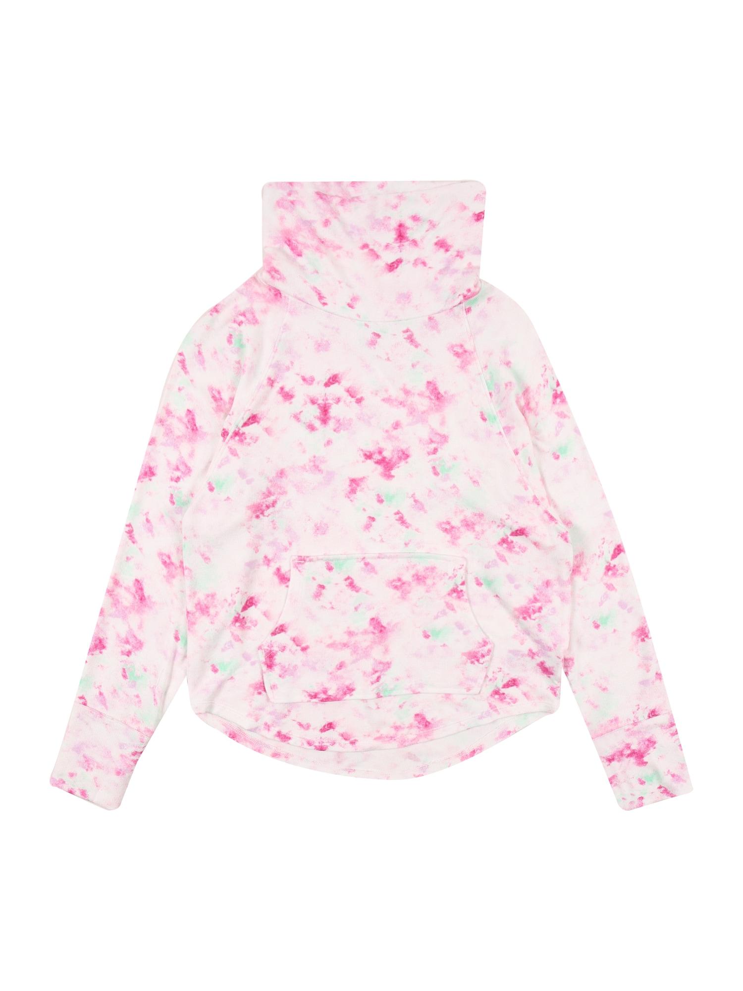 GAP Marškinėliai balta / turkio spalva / rožių spalva