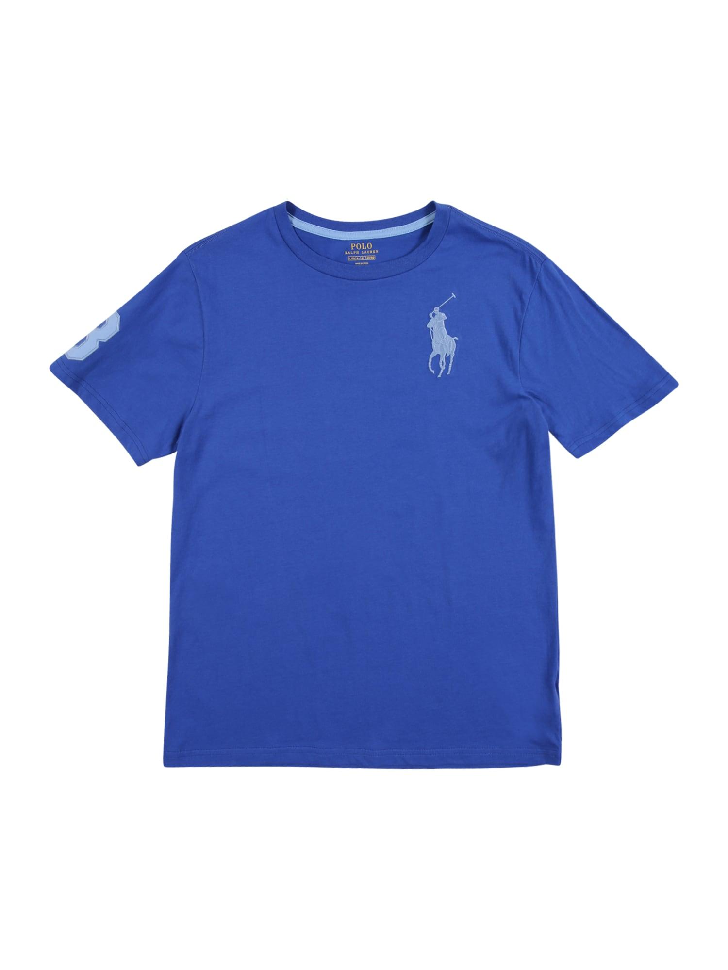 POLO RALPH LAUREN Tričko  tmavě modrá / světlemodrá