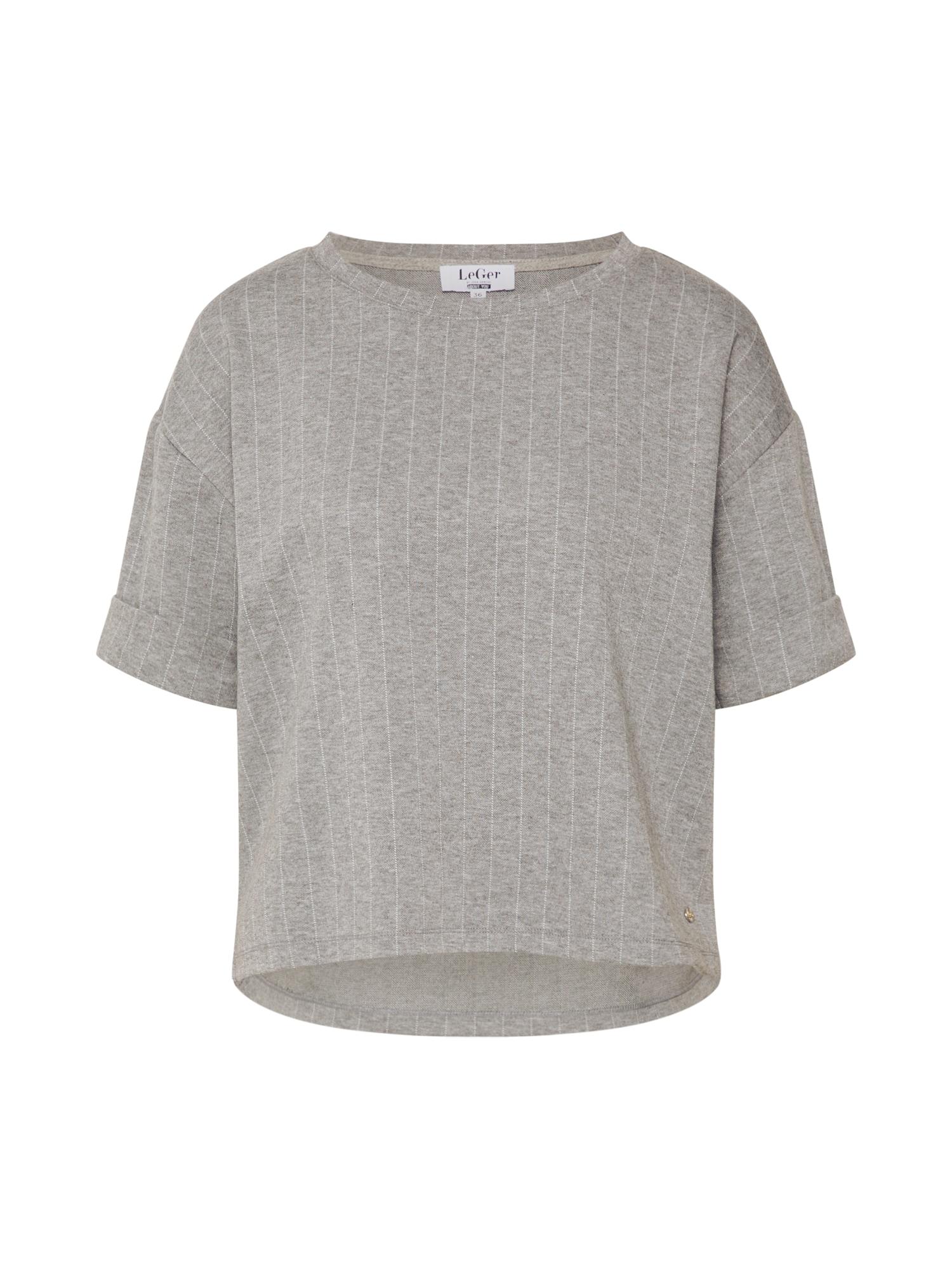 LeGer by Lena Gercke Tričko 'Lisa Shirt'  sivá