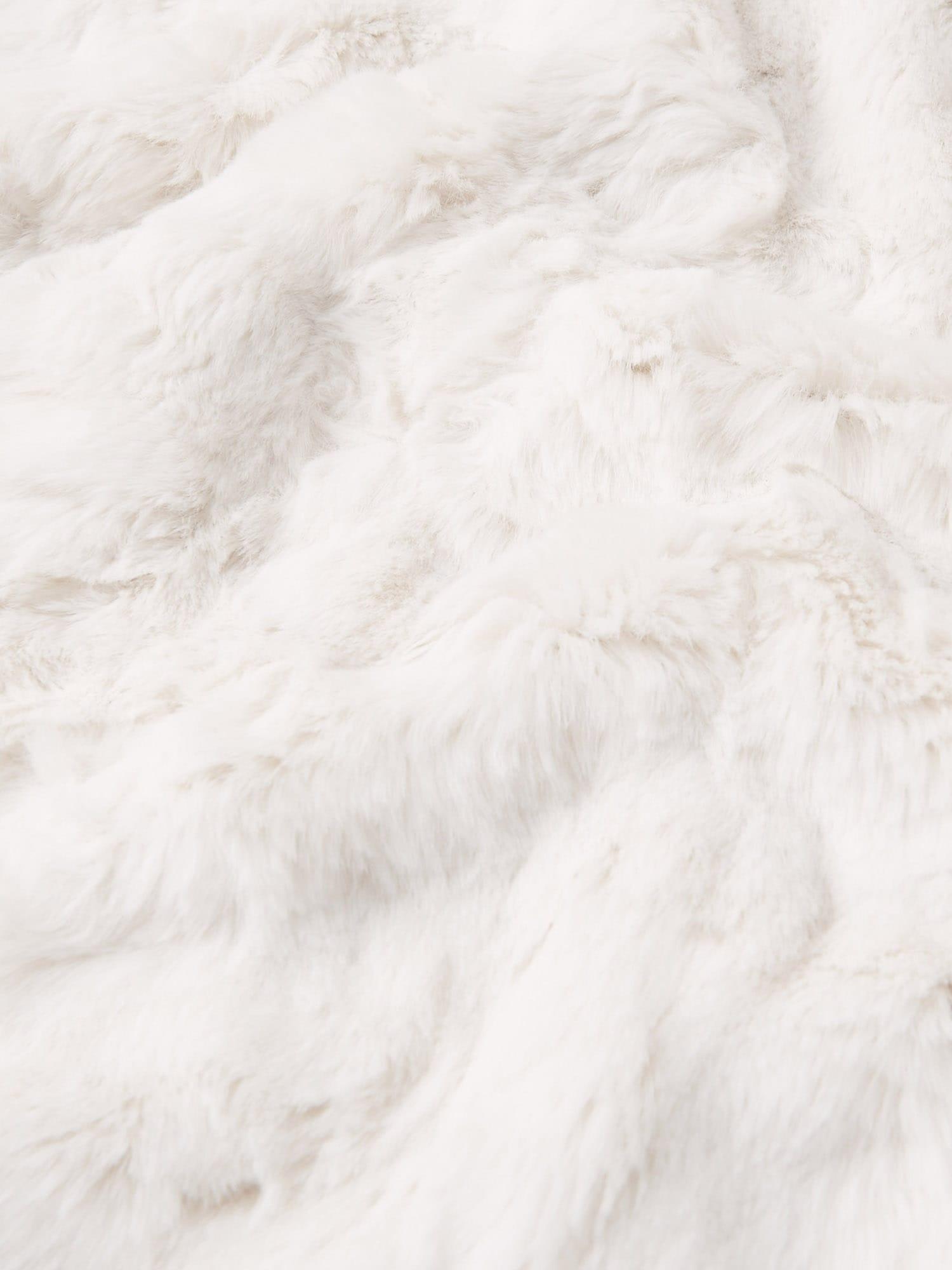 Abercrombie & Fitch Sweatjacka  vit / svart