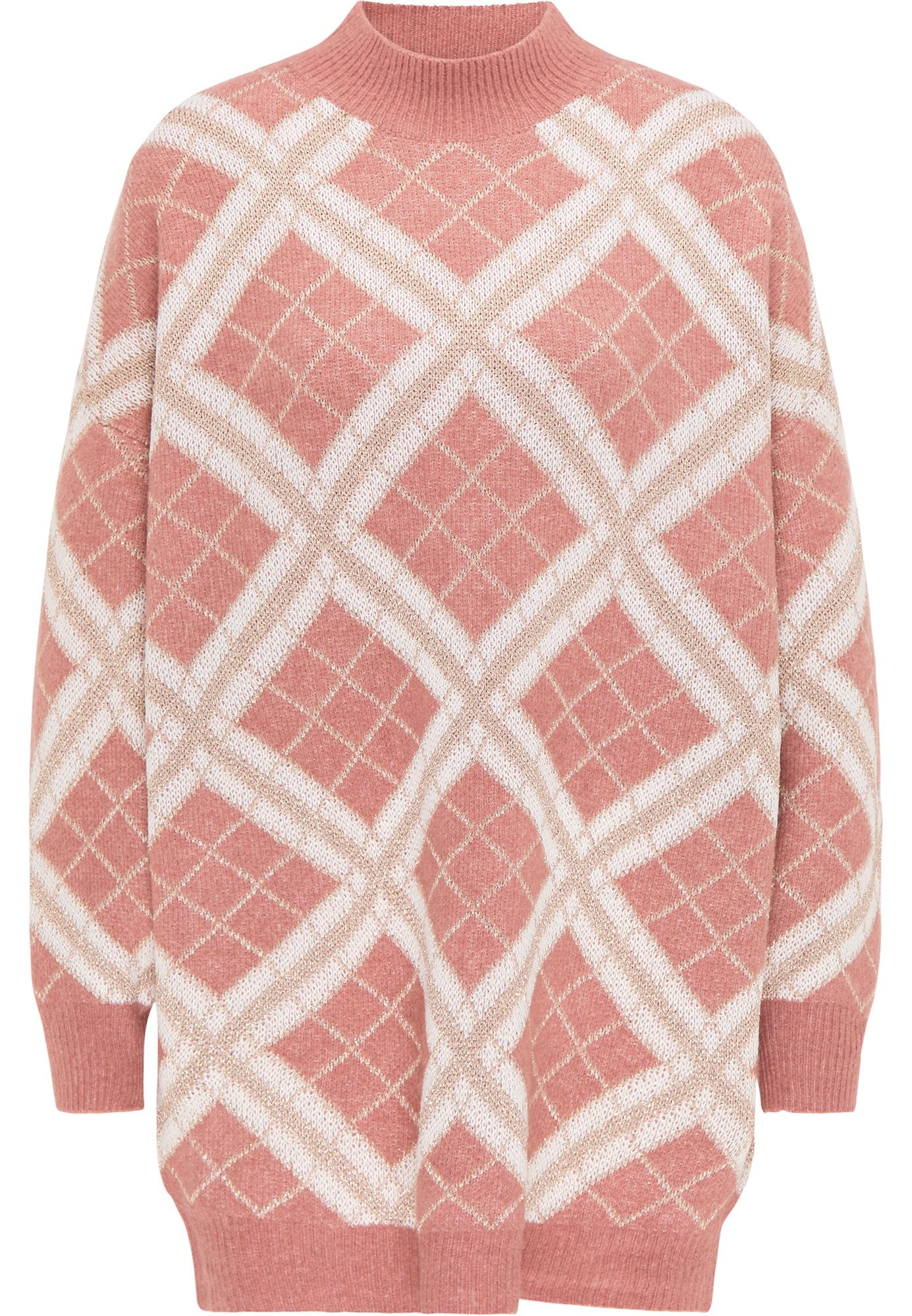 faina Laisvas megztinis rožinė / smėlio