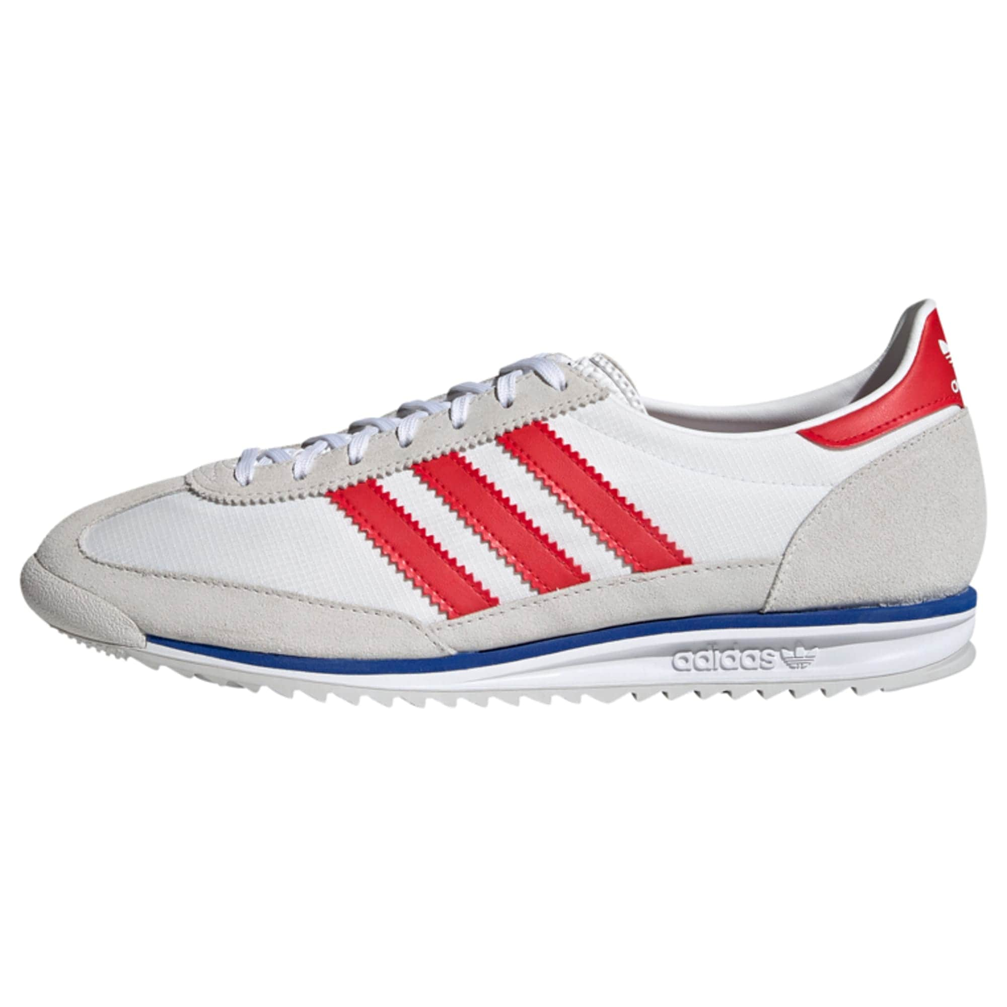 ADIDAS ORIGINALS Tenisky 'Sl 72'  šedá / bílá / červená