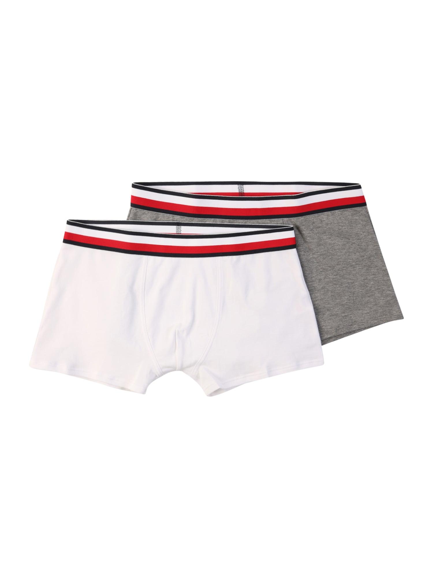 Tommy Hilfiger Underwear Apatinės kelnaitės balta / akmens / raudona