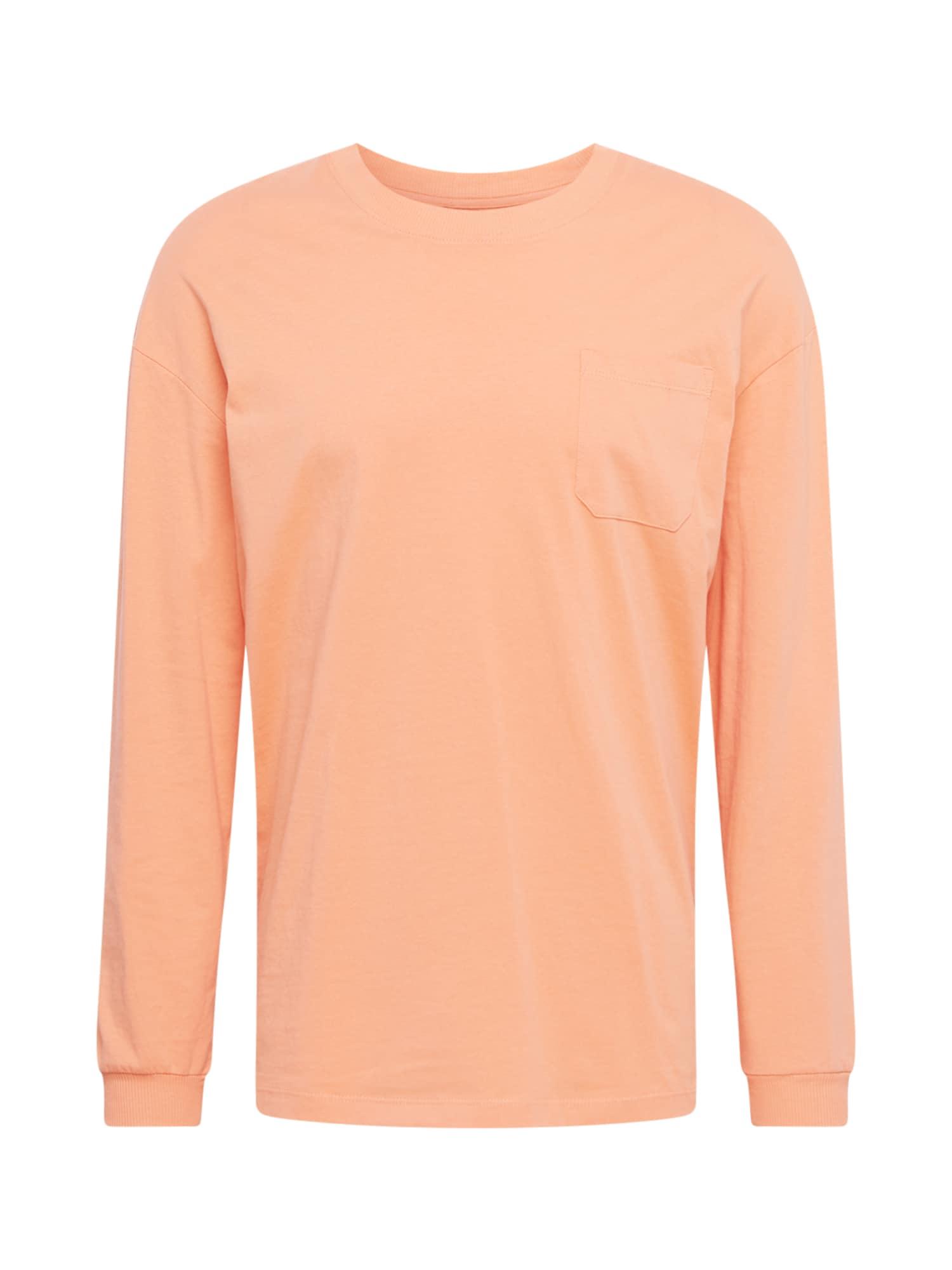 JACK & JONES Marškinėliai pastelinė oranžinė