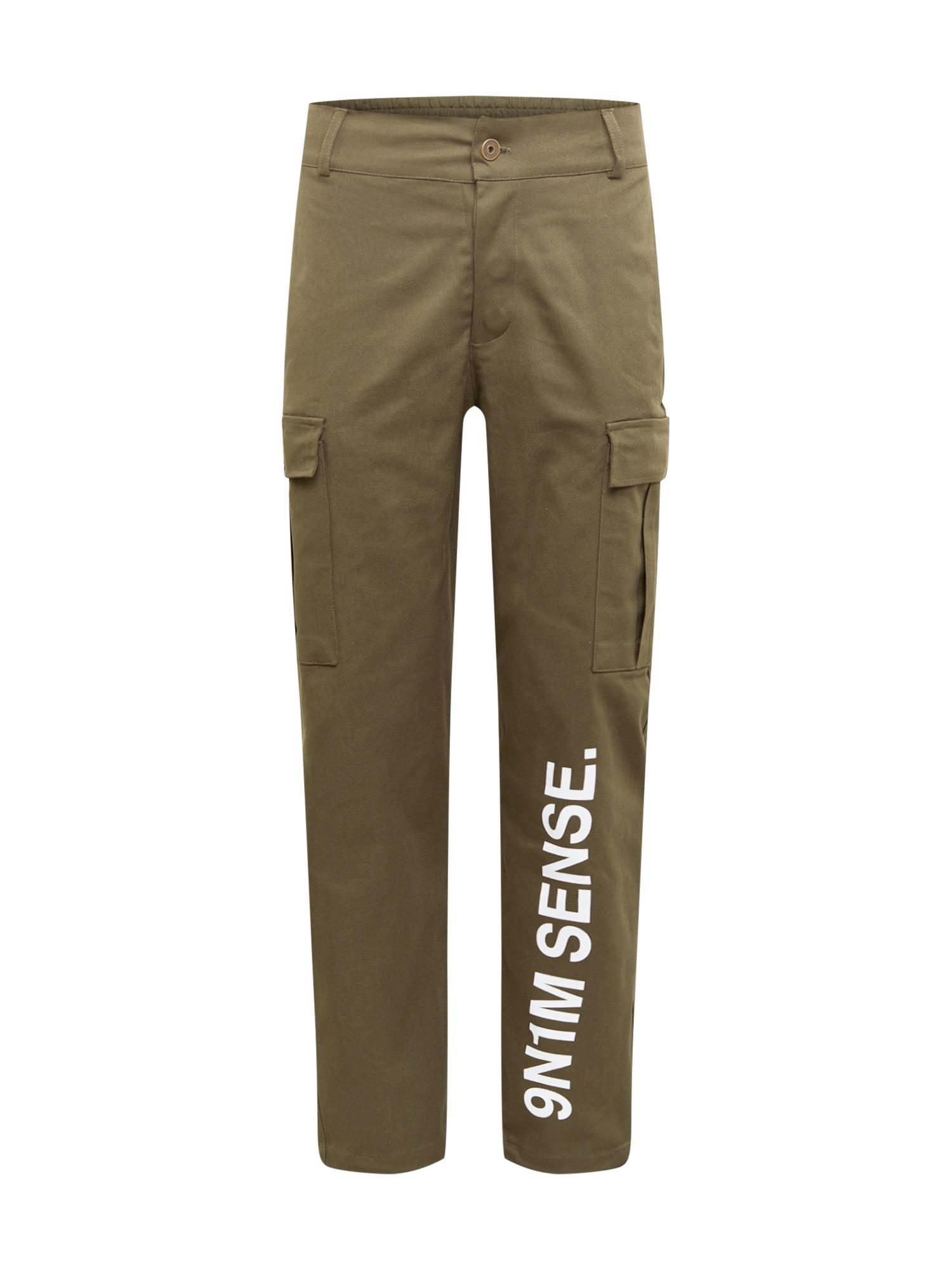 9N1M SENSE Laisvo stiliaus kelnės
