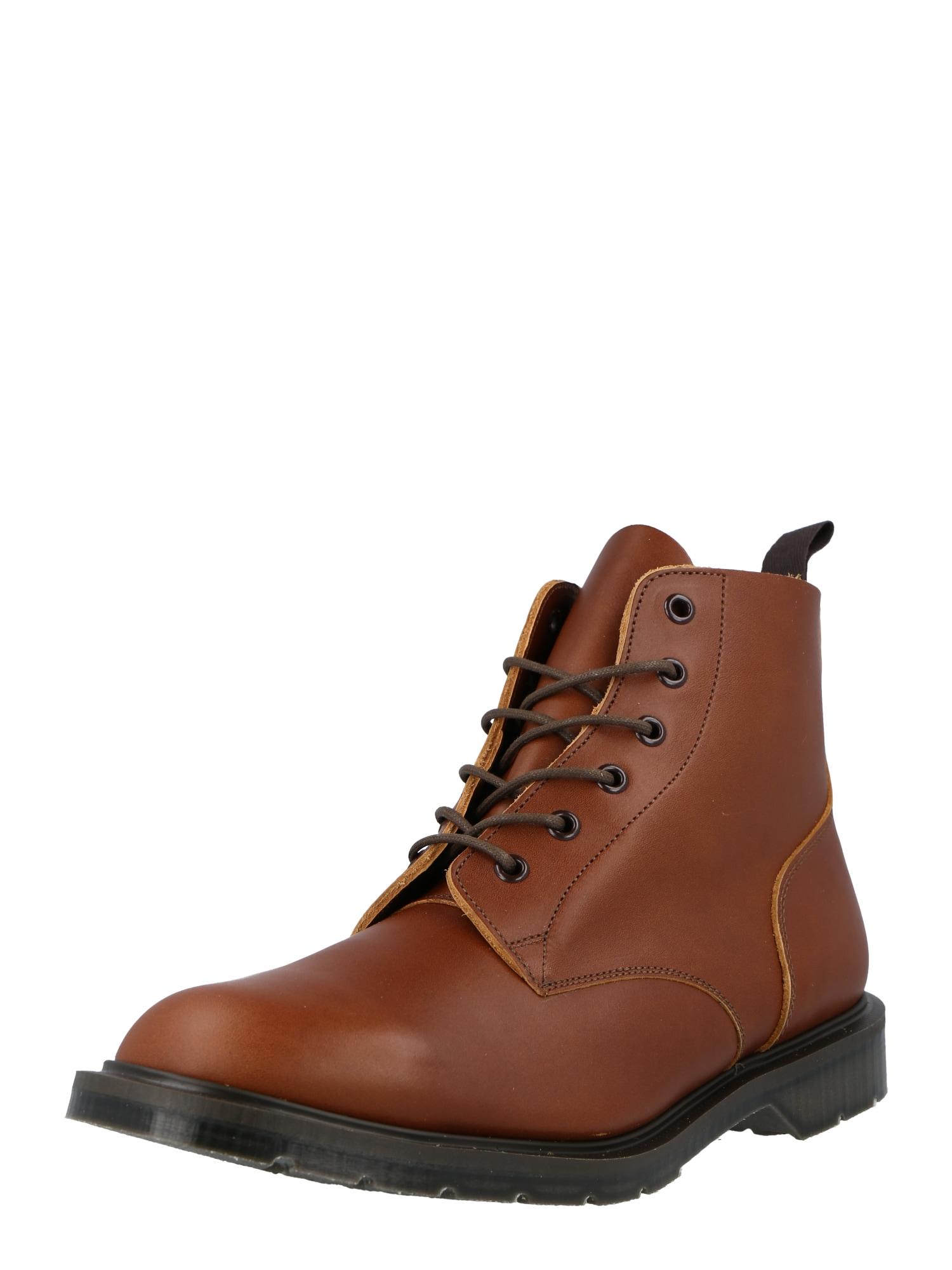 Solovair Auliniai batai su raišteliais ruda