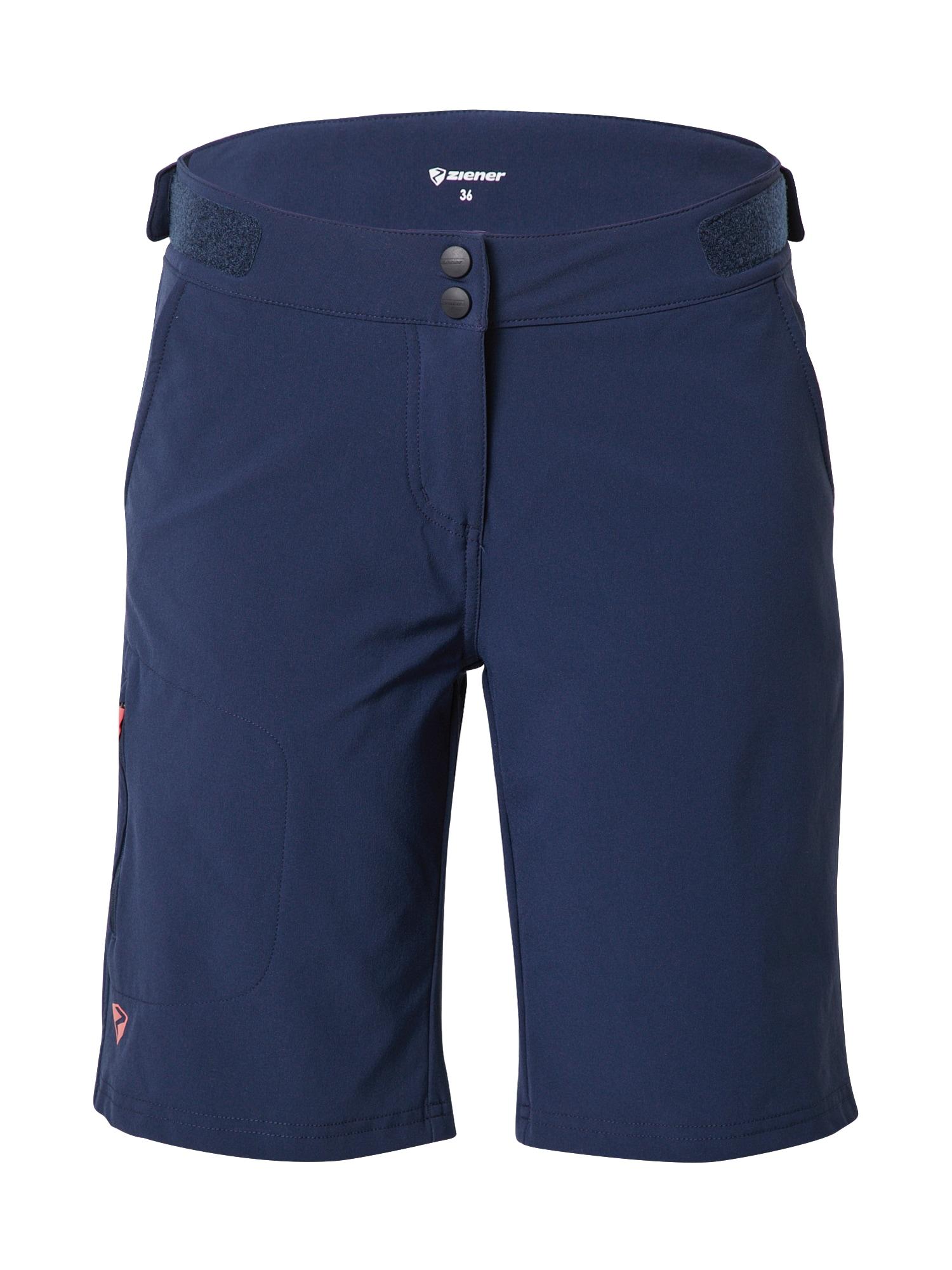 ZIENER Sportovní kalhoty 'NIVIA X-FUNCTION'  námořnická modř