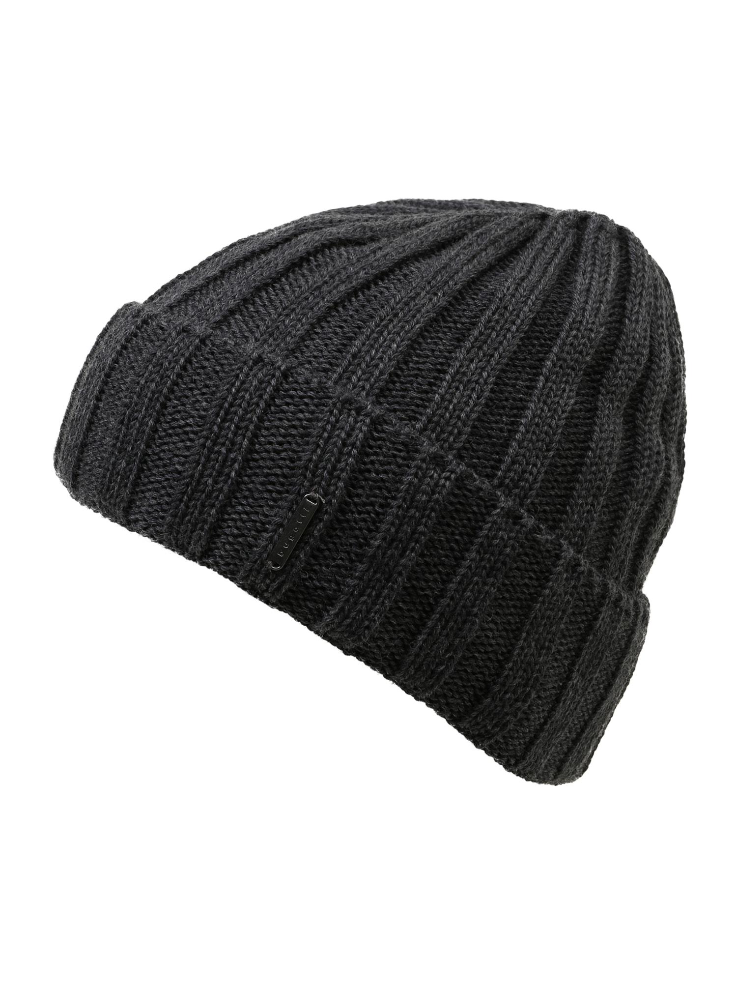 bugatti Megzta kepurė tamsiai pilka