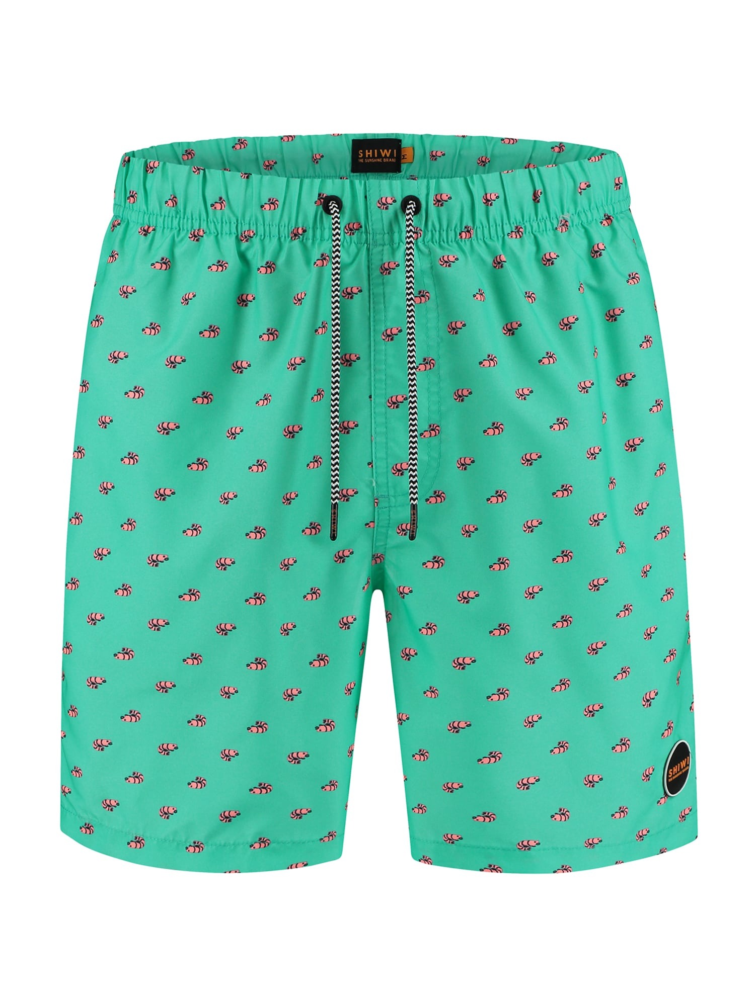 Shiwi Plavecké šortky  zelená / starorůžová / černá