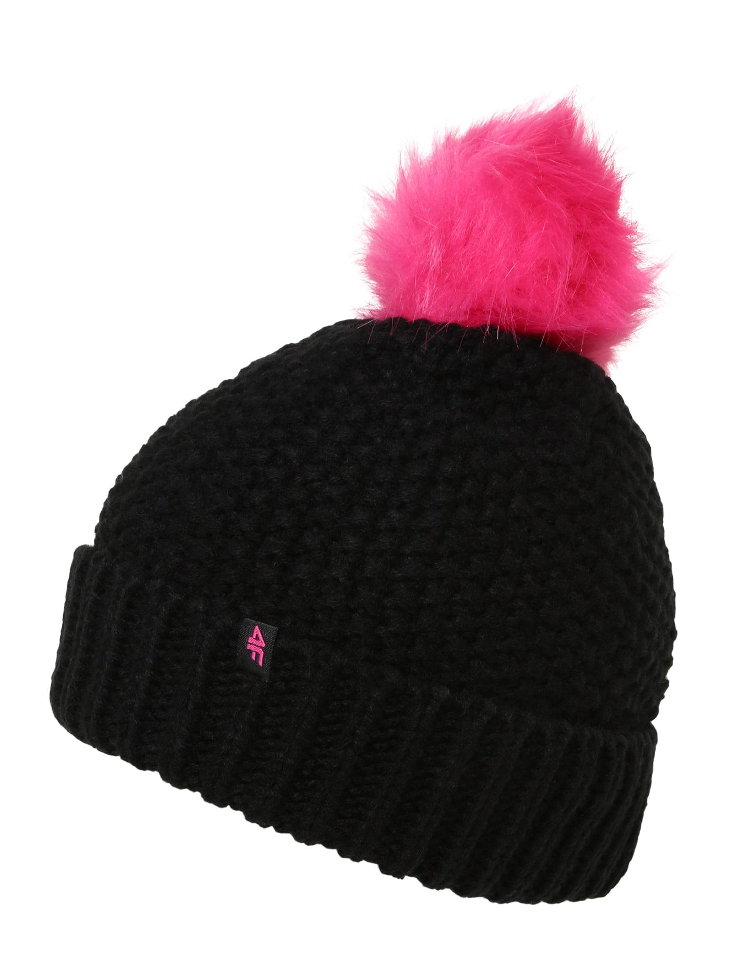 4F Sportinė kepurė juoda