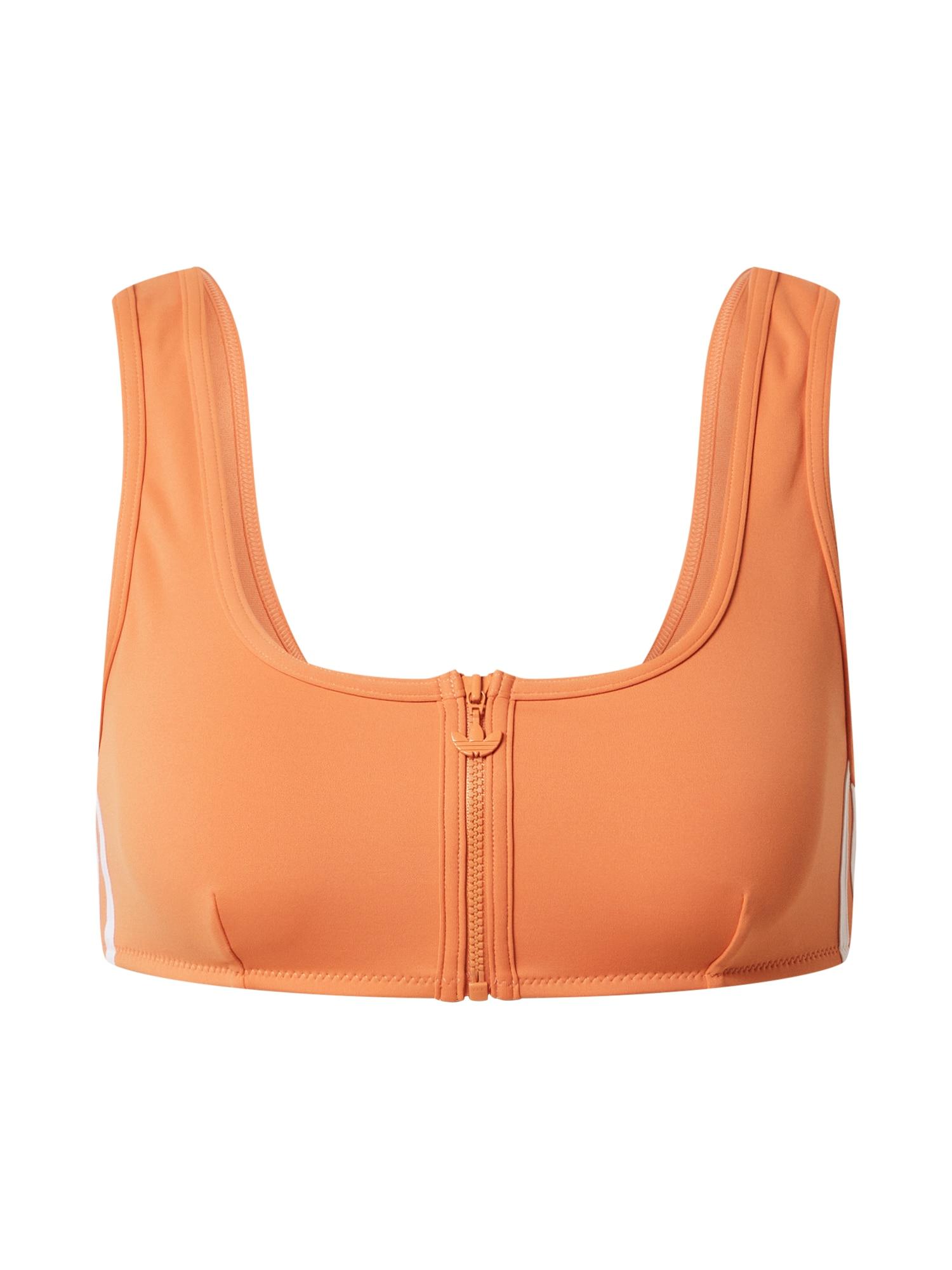 ADIDAS ORIGINALS Bikinio viršutinė dalis oranžinė