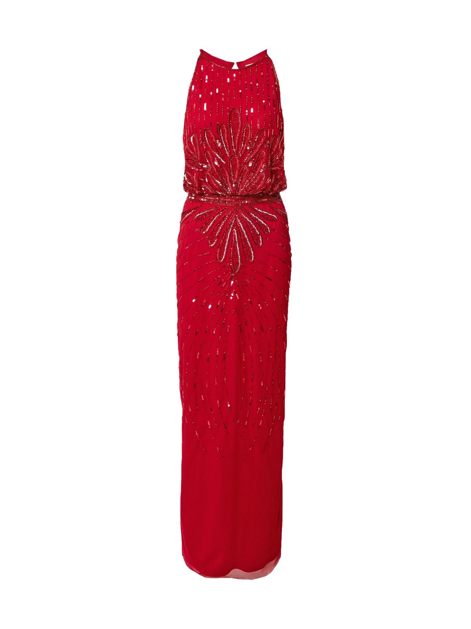 Hailey Logan Vakarinė suknelė vyšninė spalva