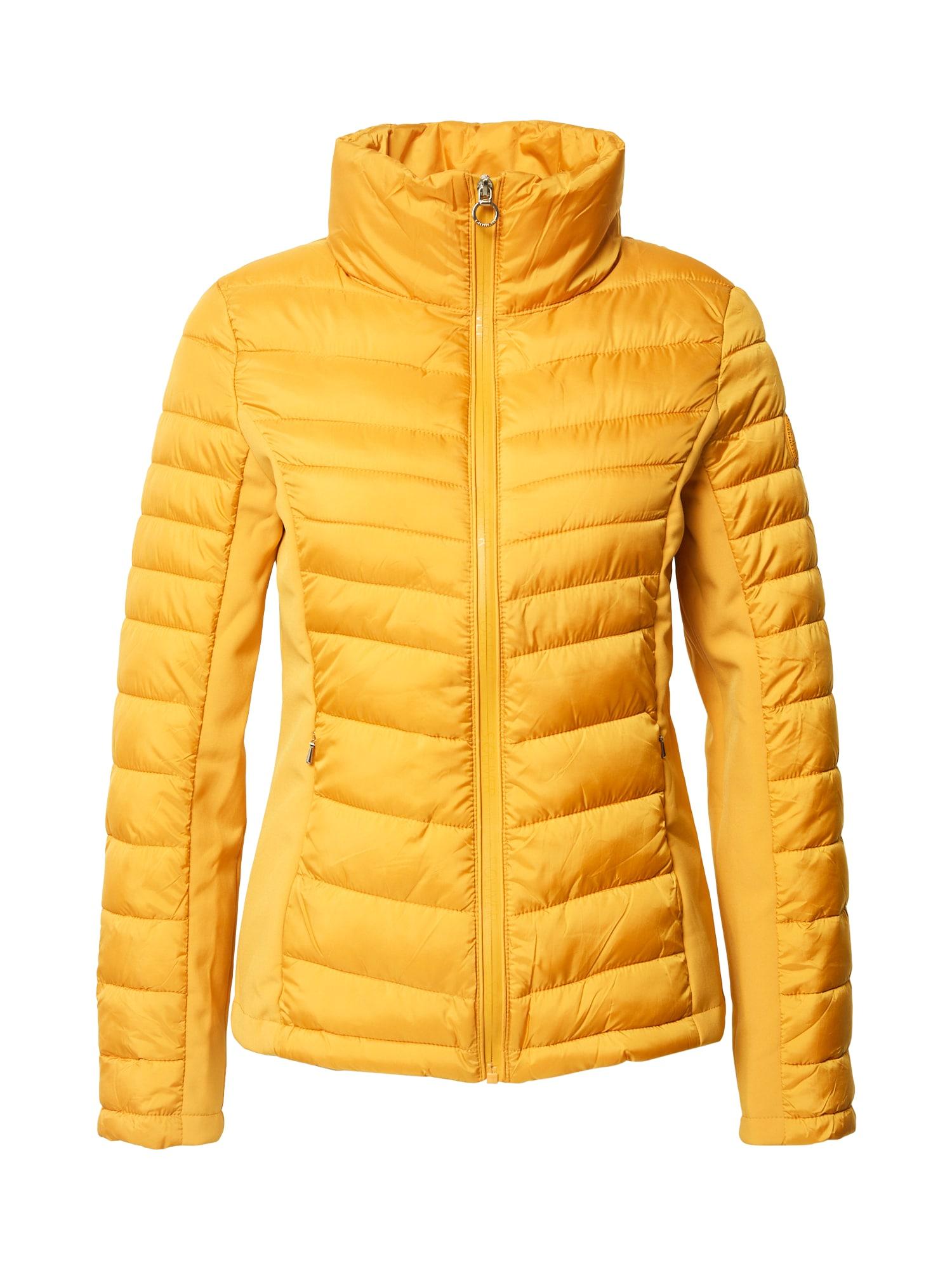 s.Oliver Prechodná bunda  zlatá žltá