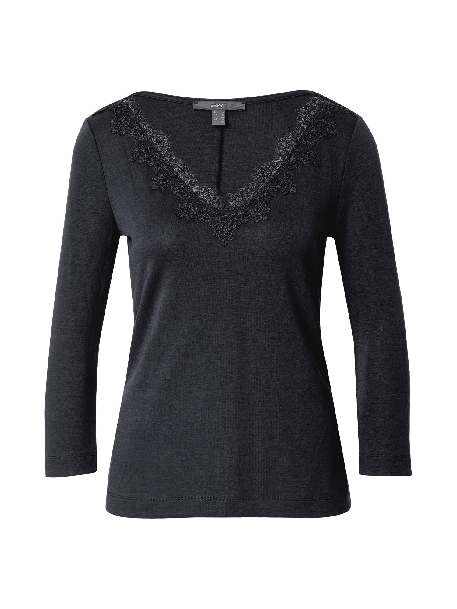 Esprit Collection Marškinėliai juoda