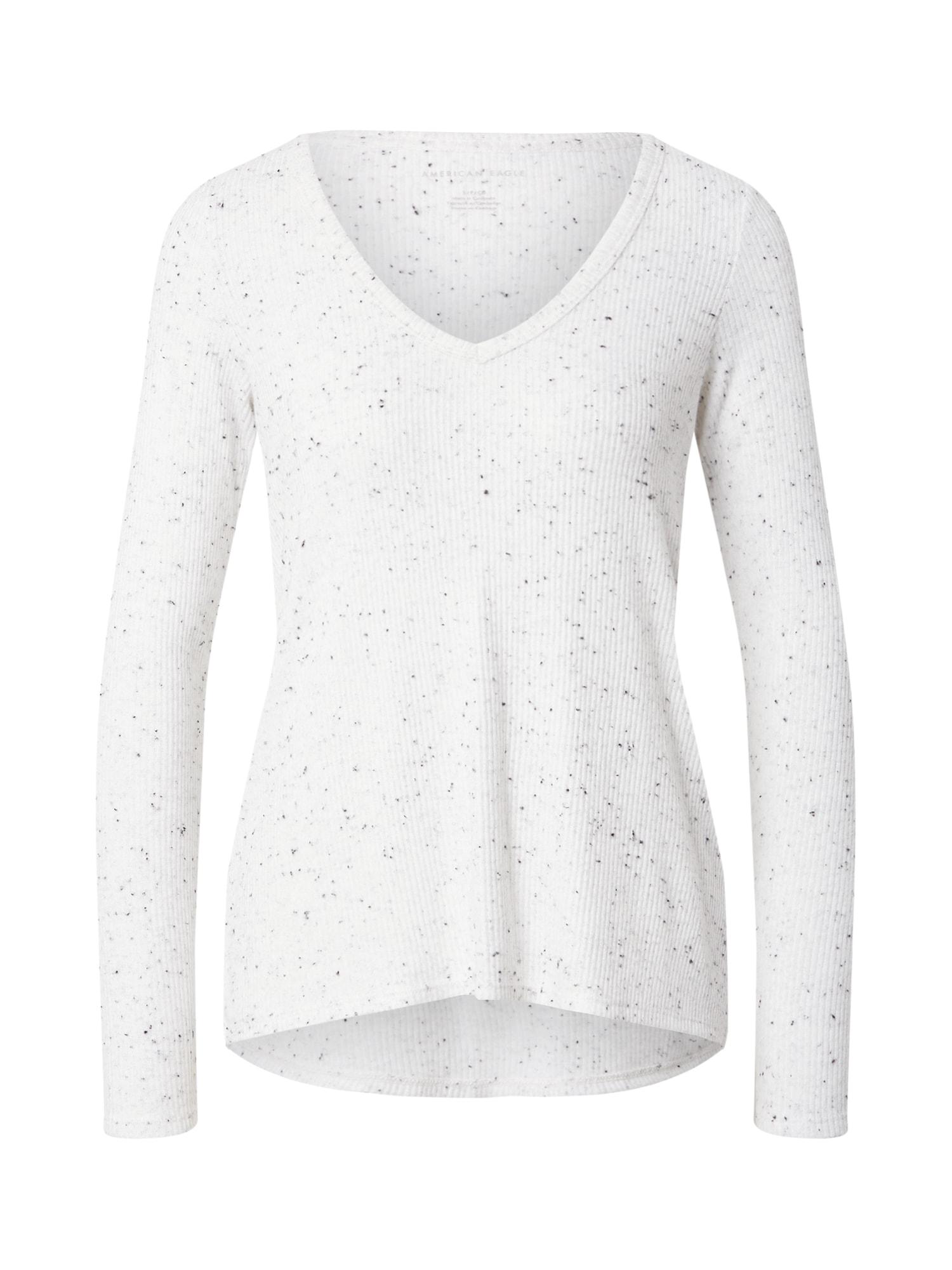 American Eagle Marškinėliai šviesiai pilka / pilka