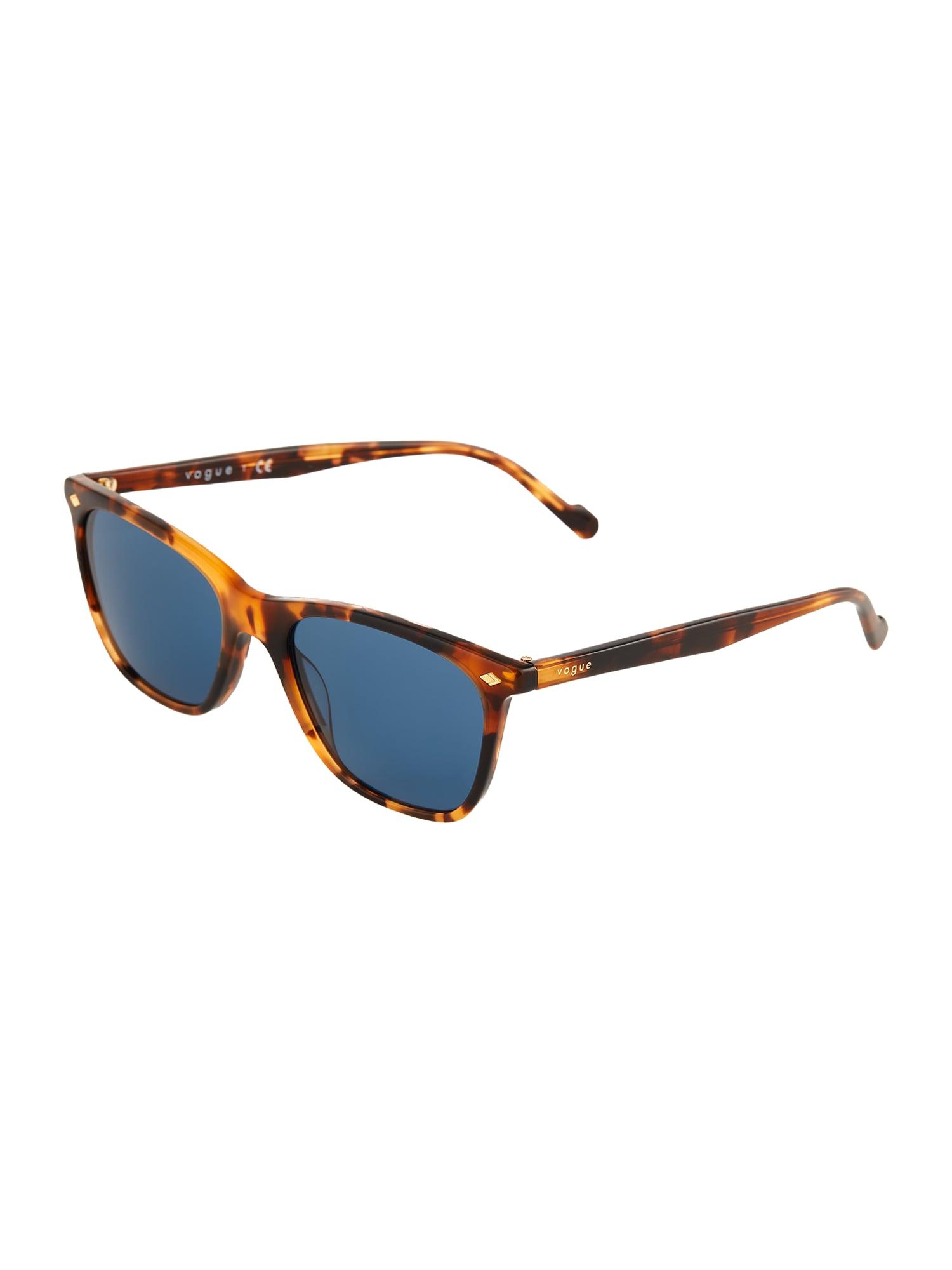 VOGUE Eyewear Akiniai nuo saulės medaus spalva / ruda / mėlyna