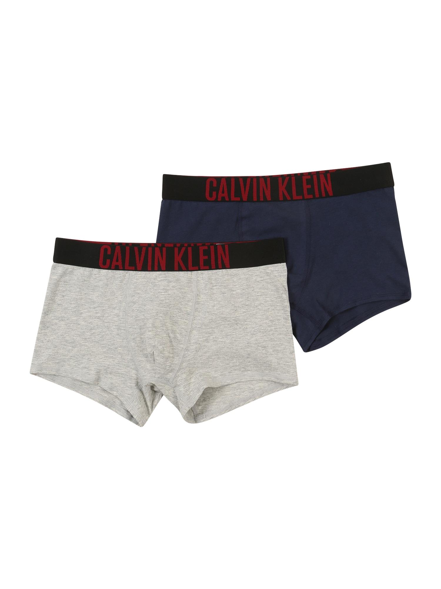 Calvin Klein Underwear Spodní prádlo  černá / šedá / námořnická modř / červená