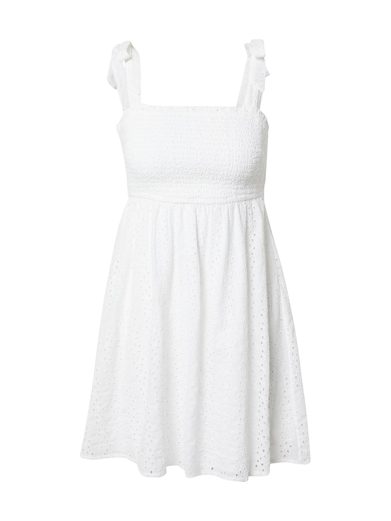 HOLLISTER Vasarinė suknelė balta