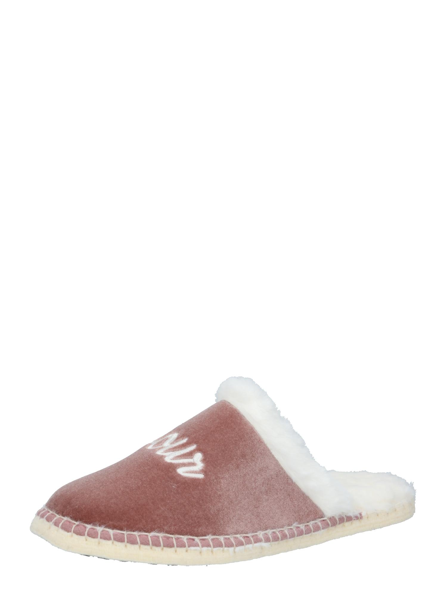 espadrij l´originale Naminės šlepetės rožinė / balta
