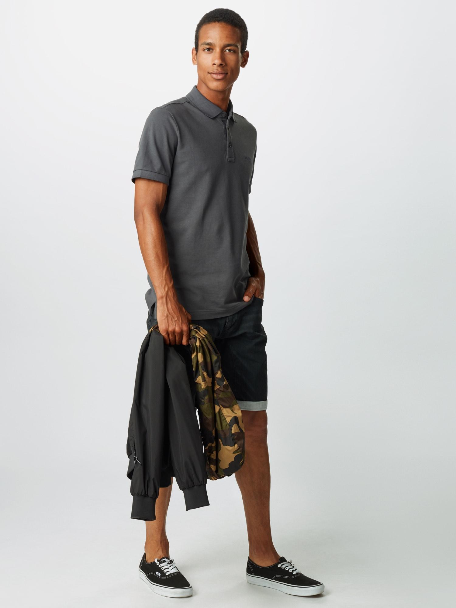 INDICODE JEANS Jeans 'Lleida'  svart denim