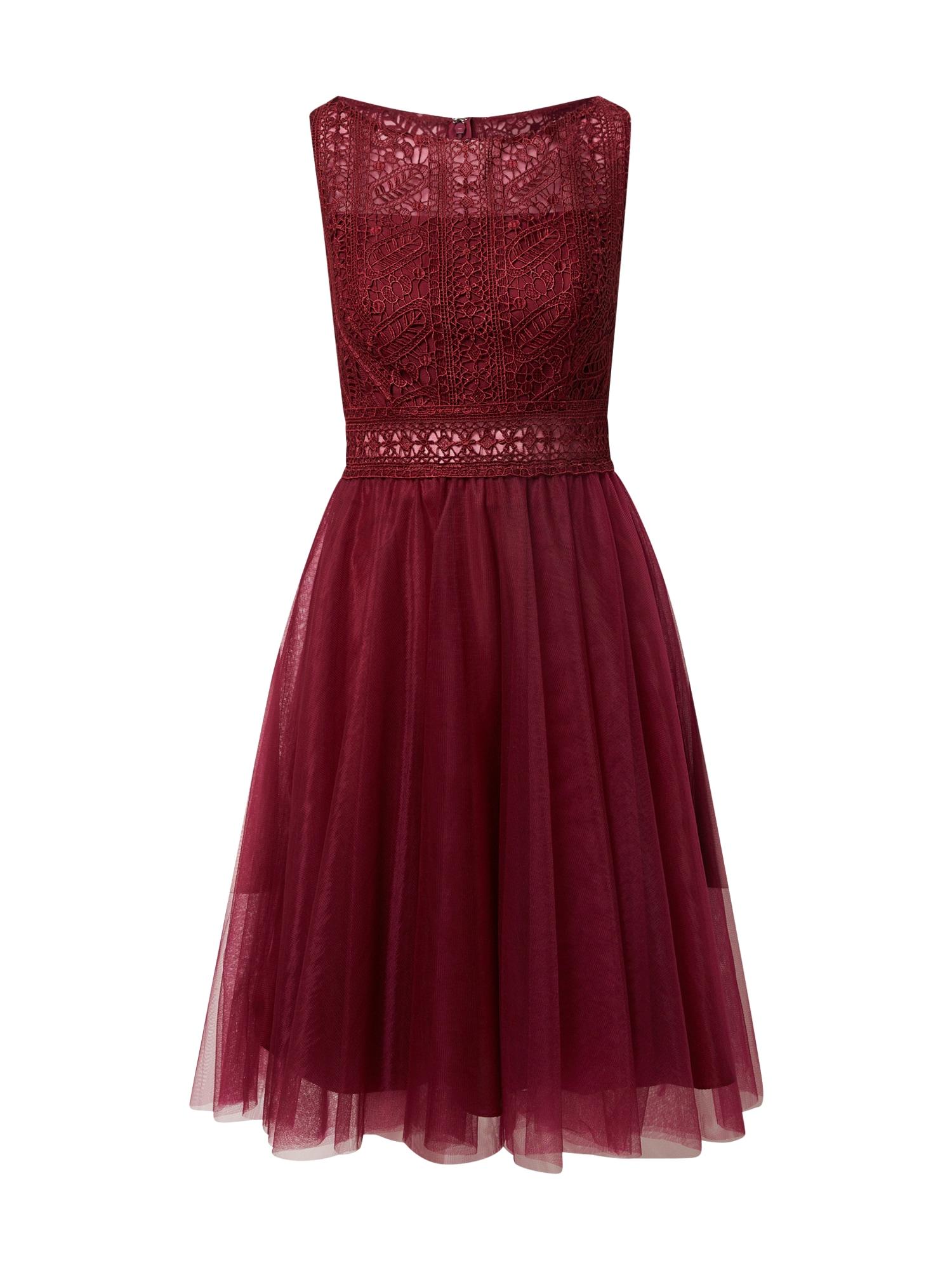 MAGIC NIGHTS Kokteilinė suknelė purpurinė spalva