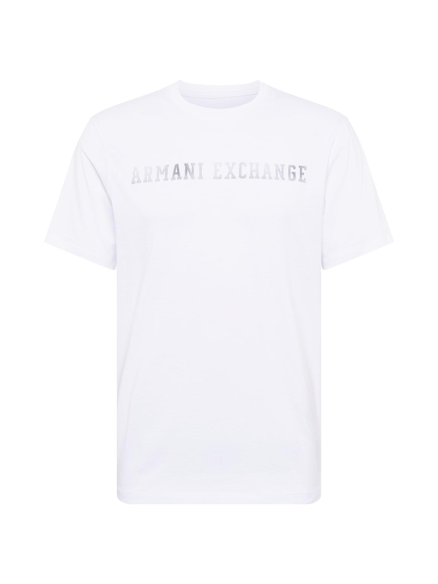 ARMANI EXCHANGE Tričko '3HZTLA'  černá / bílá
