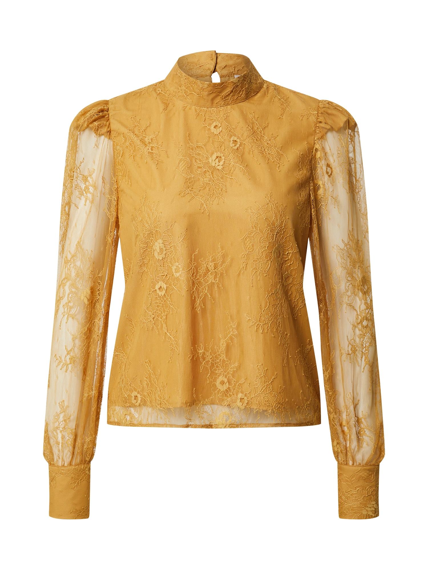 EDITED Palaidinė 'Federica' garstyčių spalva / geltona