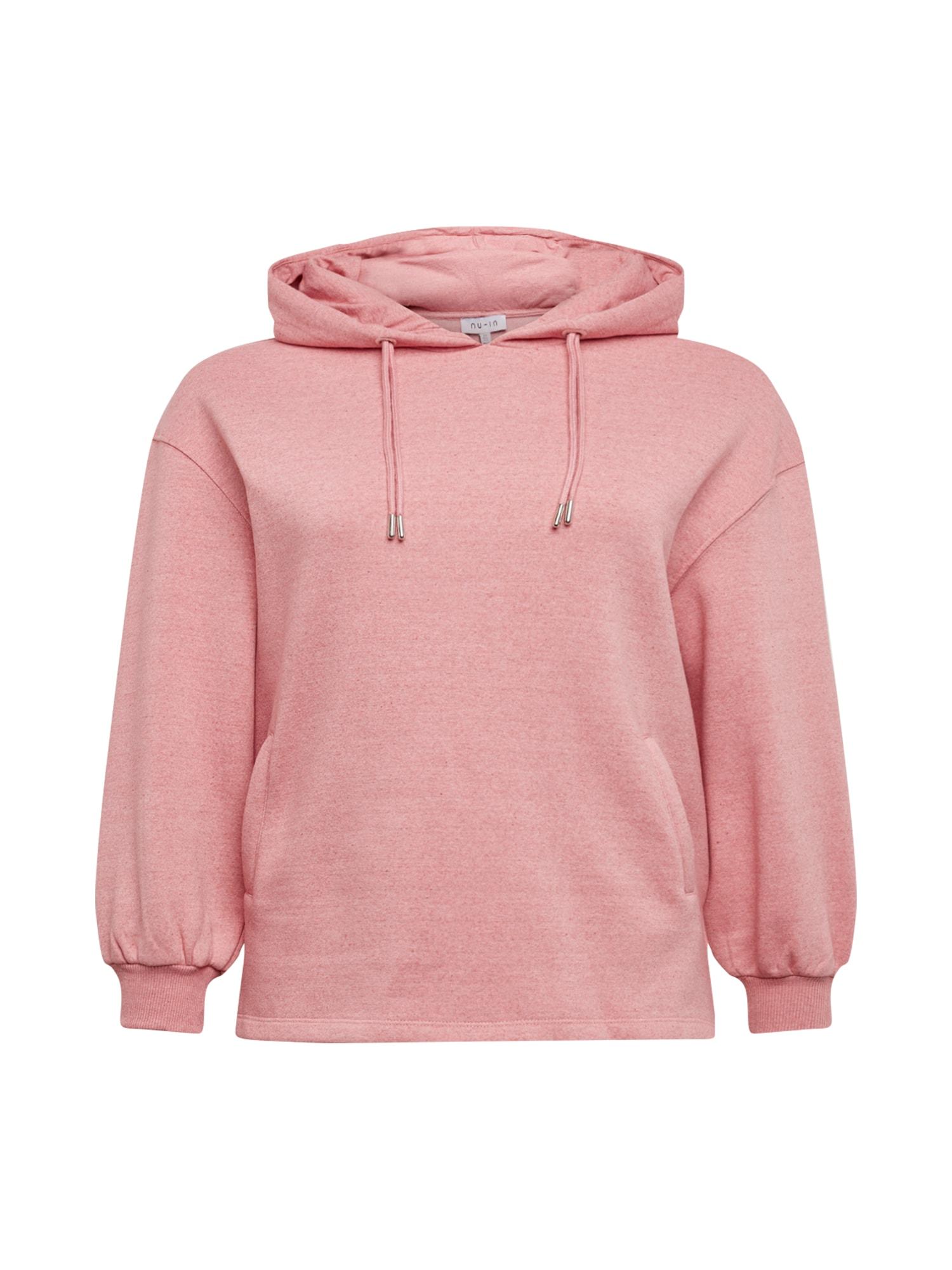 NU-IN Plus Megztinis be užsegimo rožinė