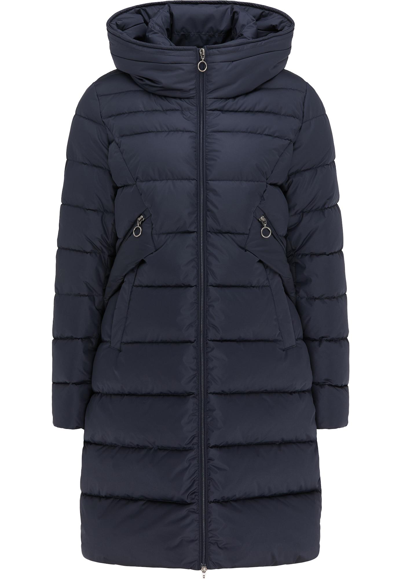 DreiMaster Maritim Žieminis paltas tamsiai mėlyna jūros spalva