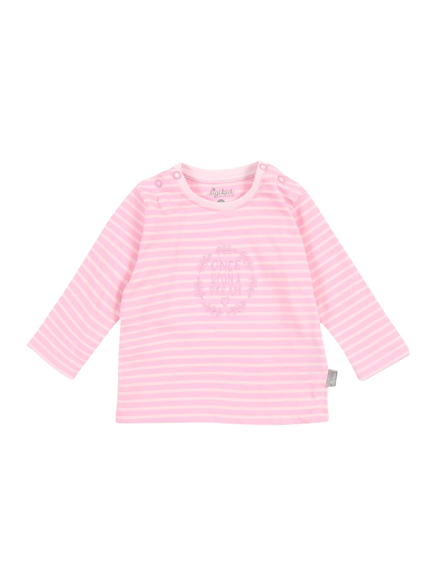 SIGIKID Marškinėliai rožių spalva / šviesiai rožinė