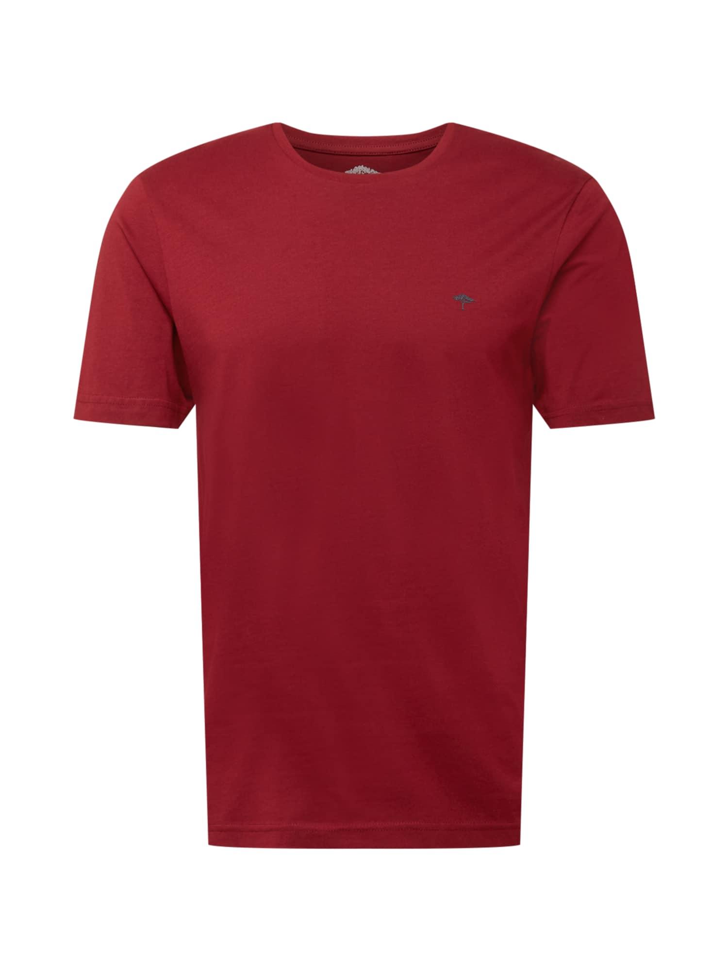 FYNCH-HATTON Marškinėliai tamsiai raudona