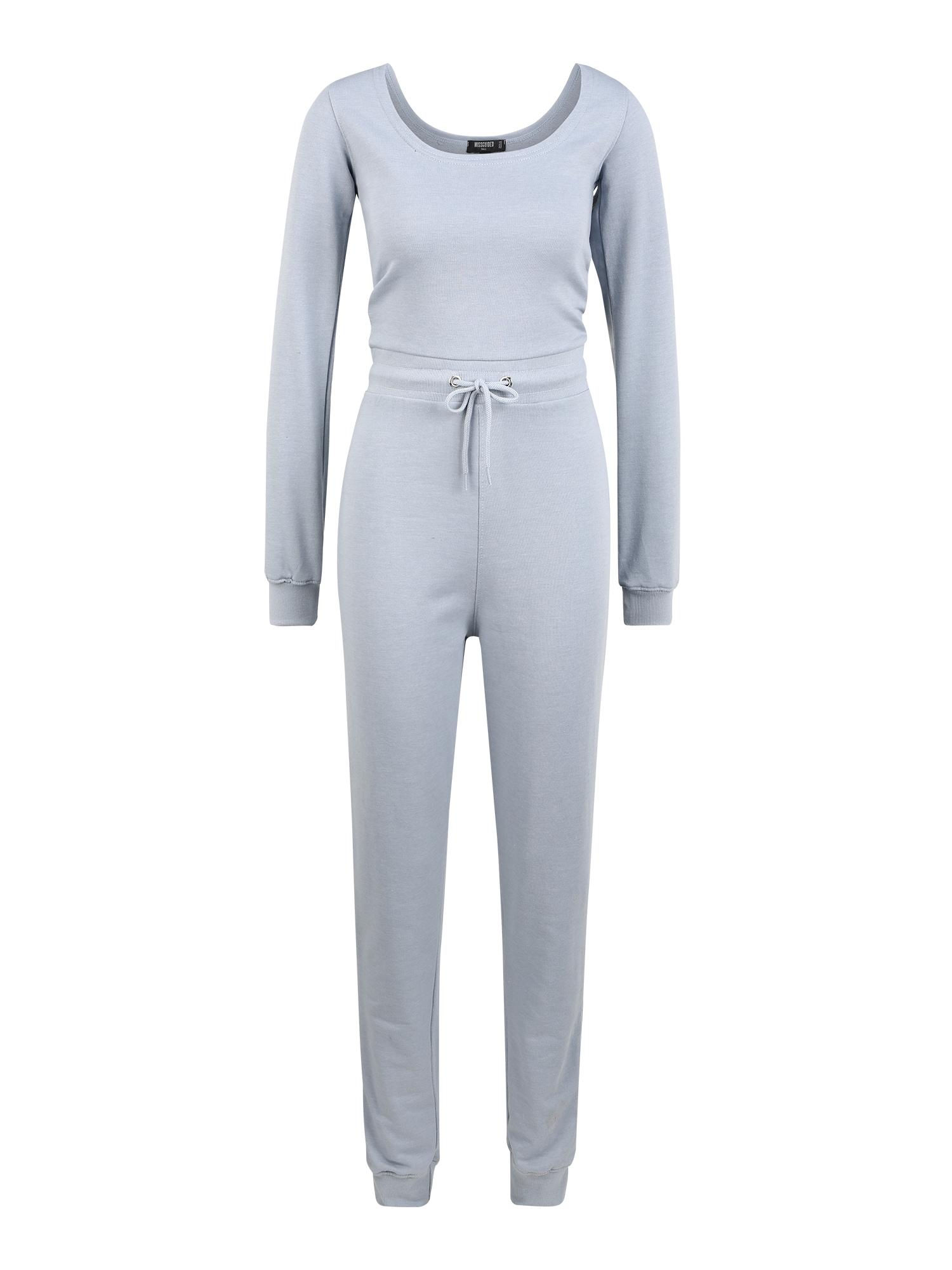 Missguided (Tall) Vienos dalies kostiumas mėlyna dūmų spalva