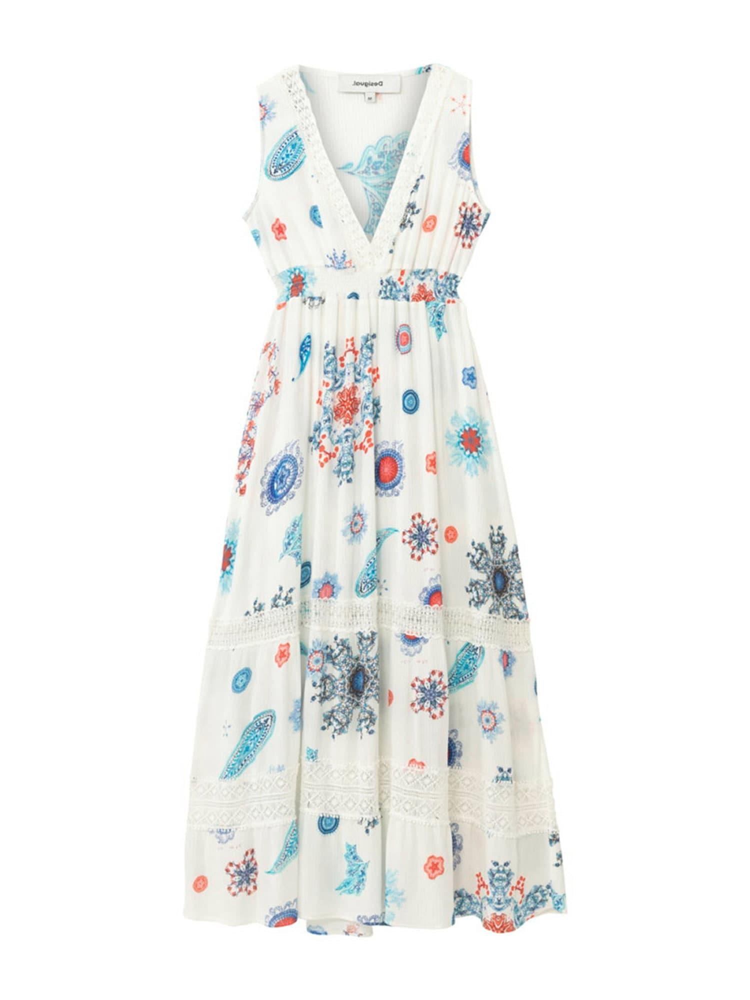 Desigual Paplūdimio suknelė 'TAHITI' balta / mišrios spalvos